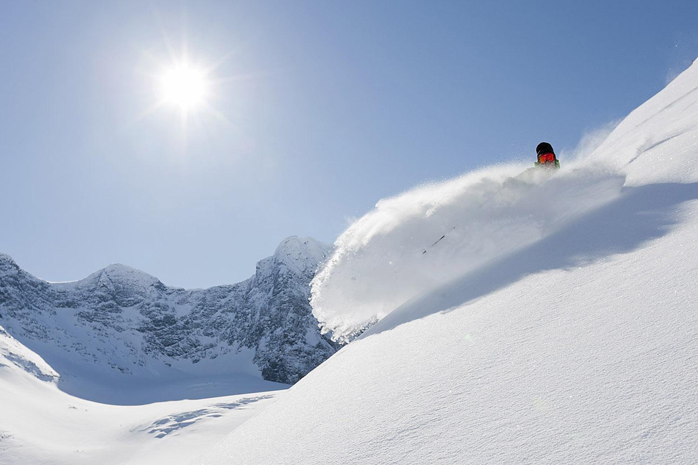 Arctic Ski Destination