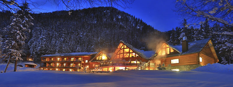 Enjoy Tyax Wilderness Resort & Spa and all its amenities.