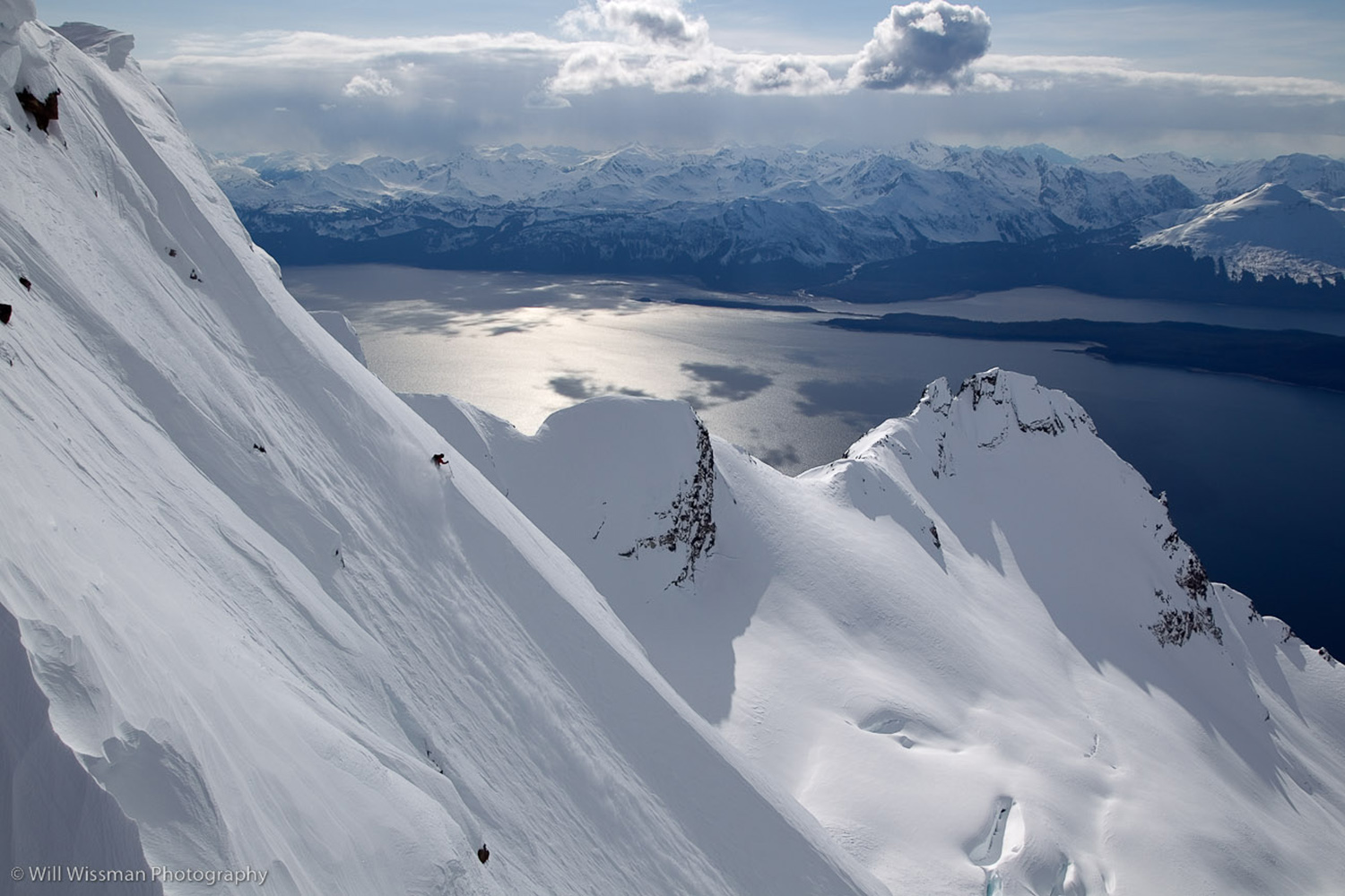 One of the best terrain in the list of heli ski destinations.