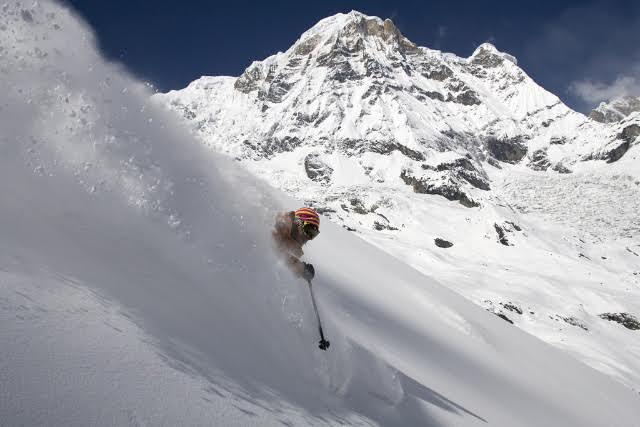 Annapurna South powder