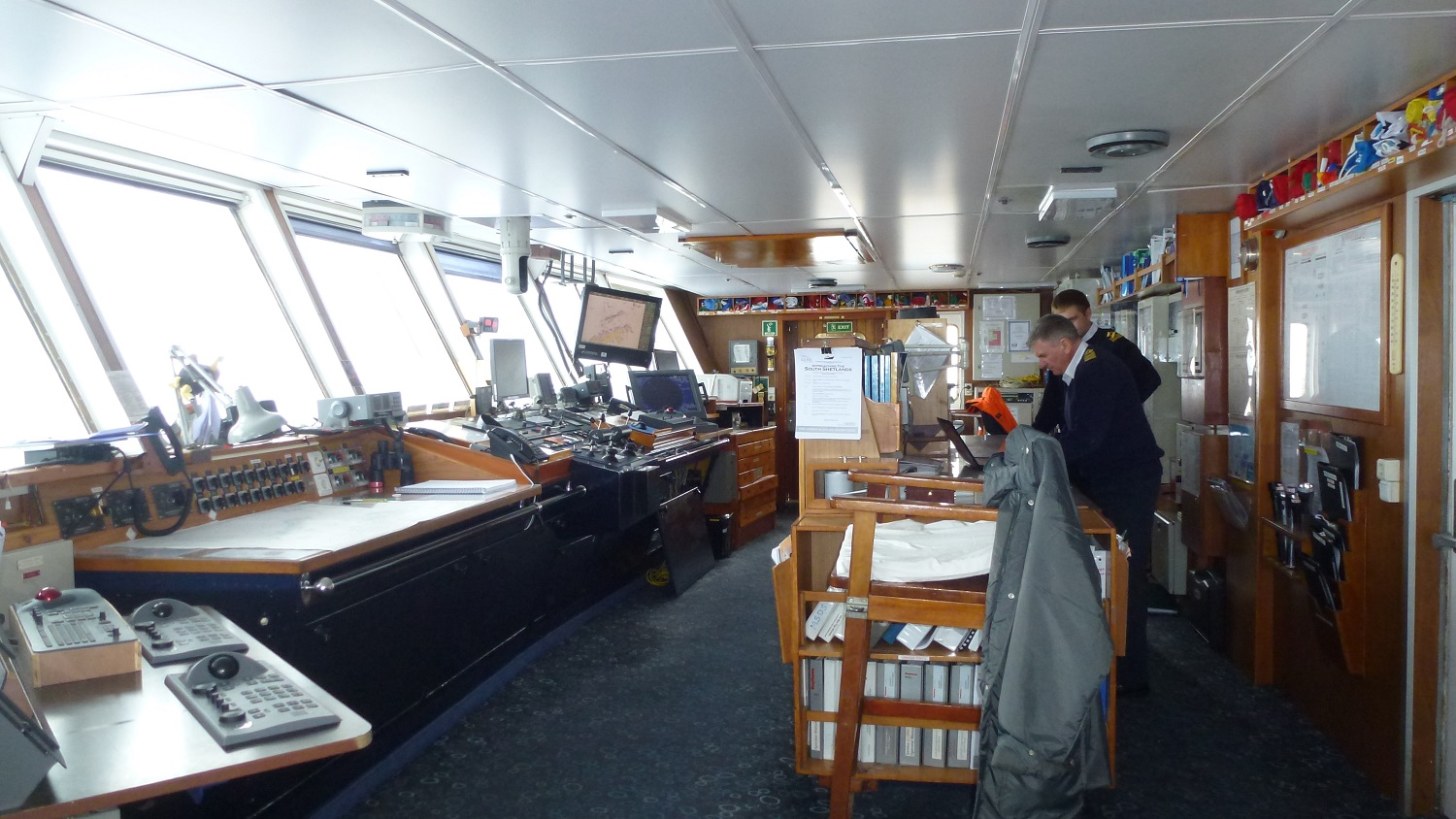 The Ships Navigation Room