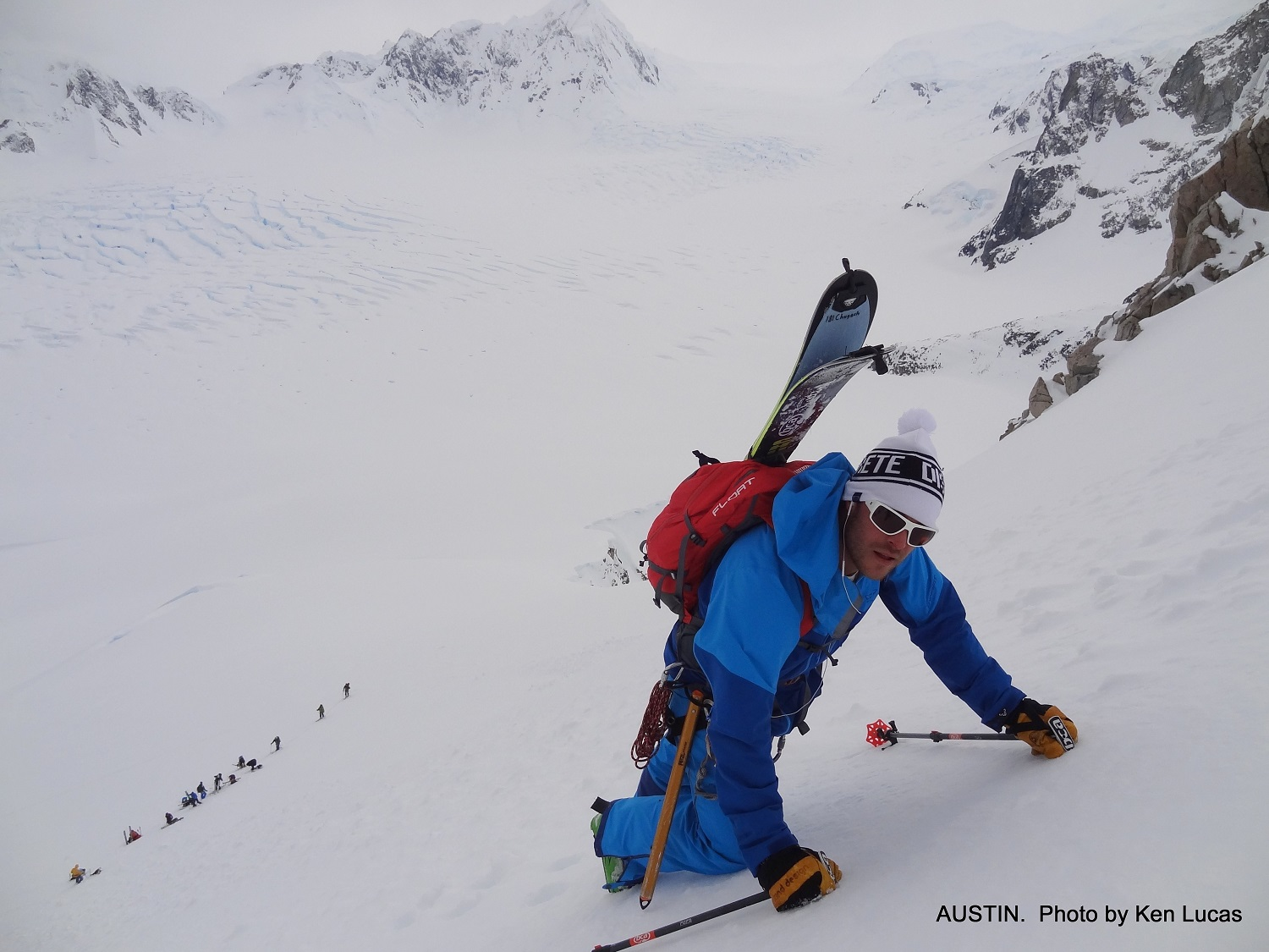 Epic Climbs and Ski Touring the Key Objective