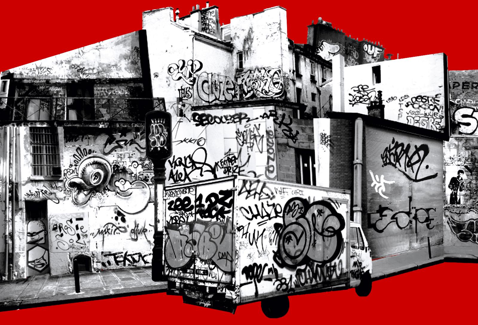 Détail de la rue #1