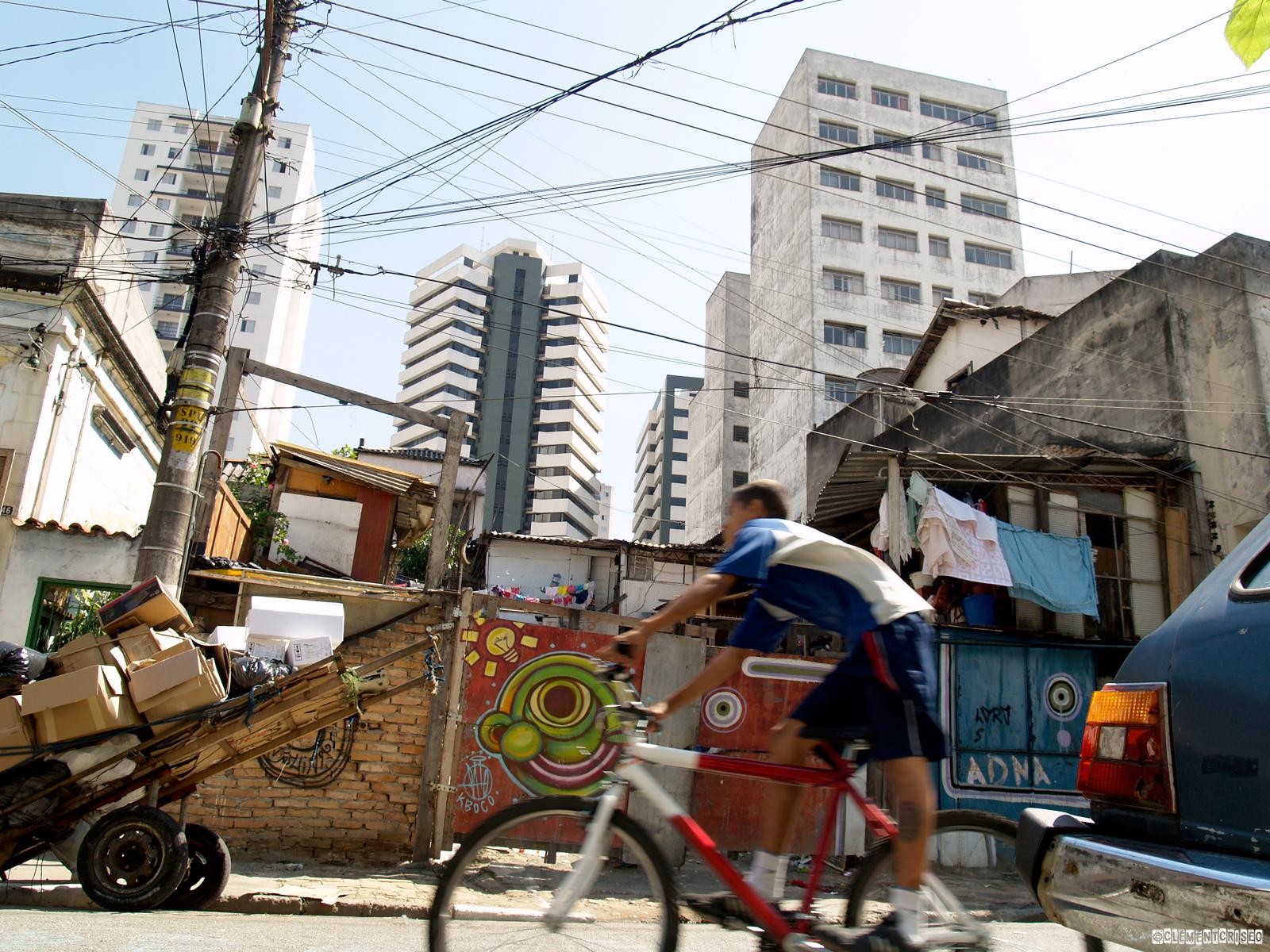 Du vélo à Sao