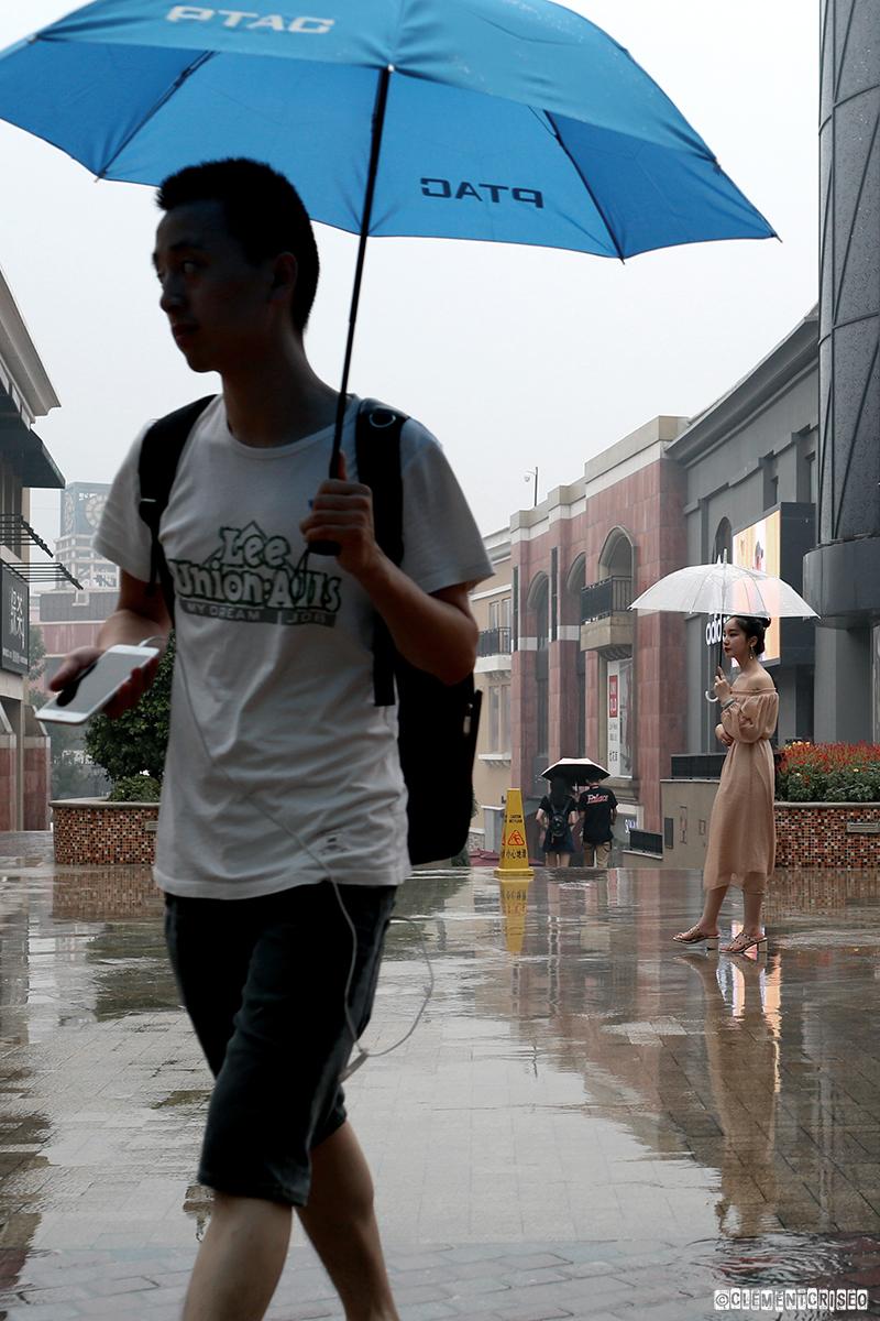 Un p'tit coin de parapluie chic