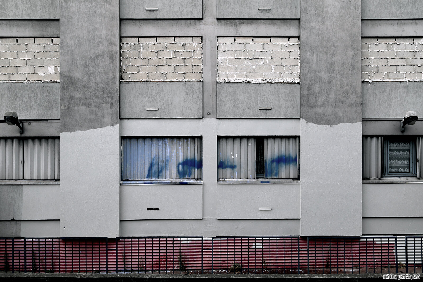 Fin du mur