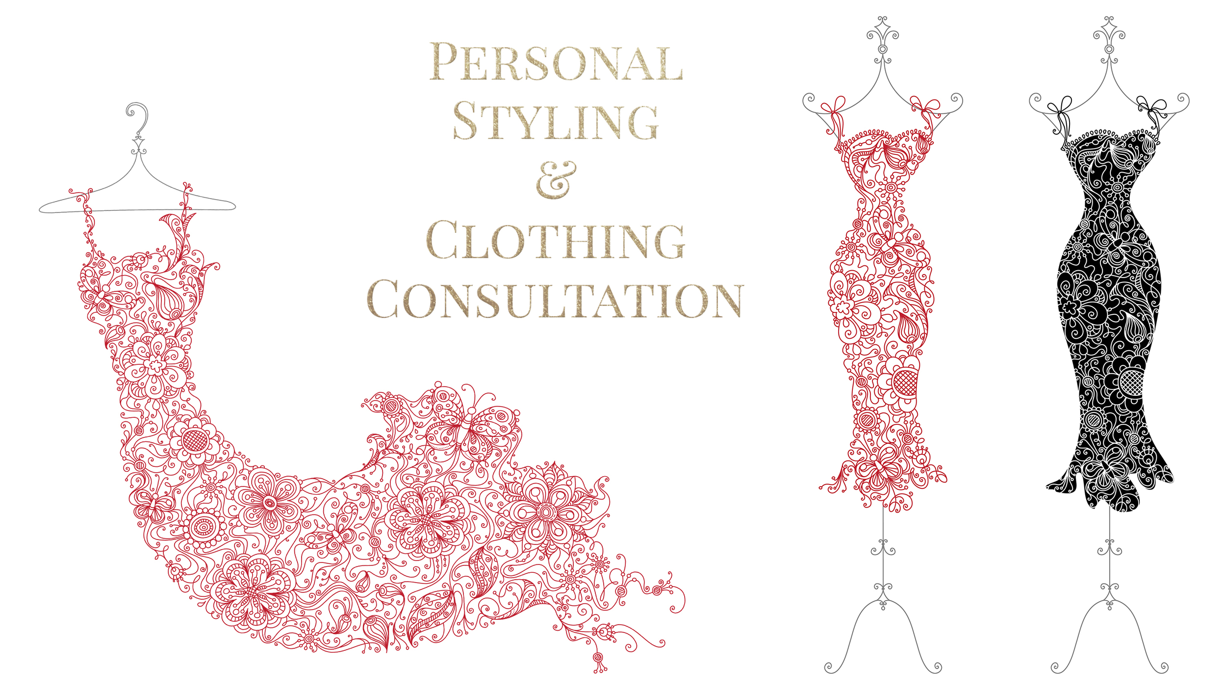 Personal Styling and Clothing Consultation before every Makeover and Photoshoot with You Deserve This  www.youdeservethis.com