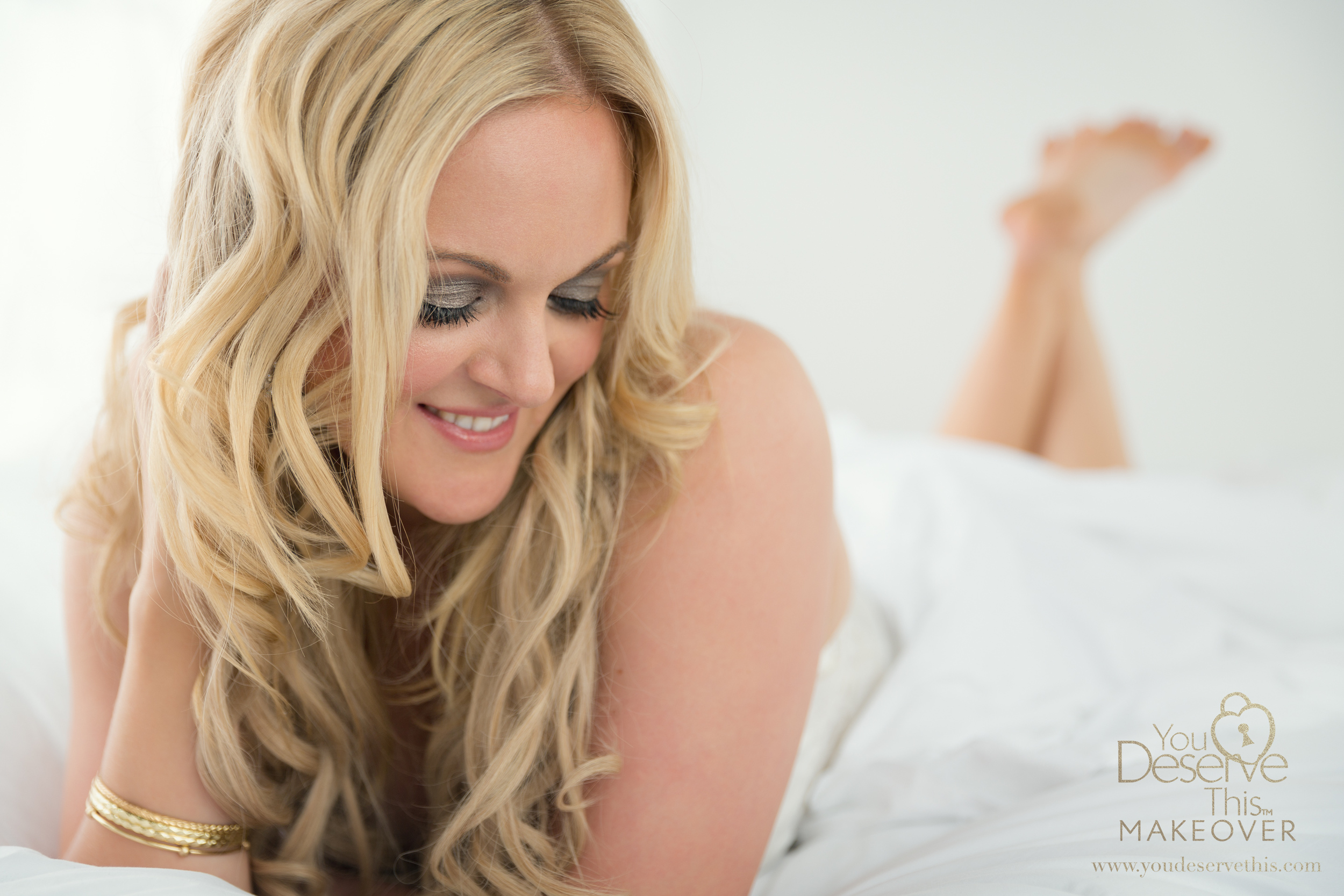 Bright and sensual contemporary glamour portraits  for all women.  www.youdeservethis.com