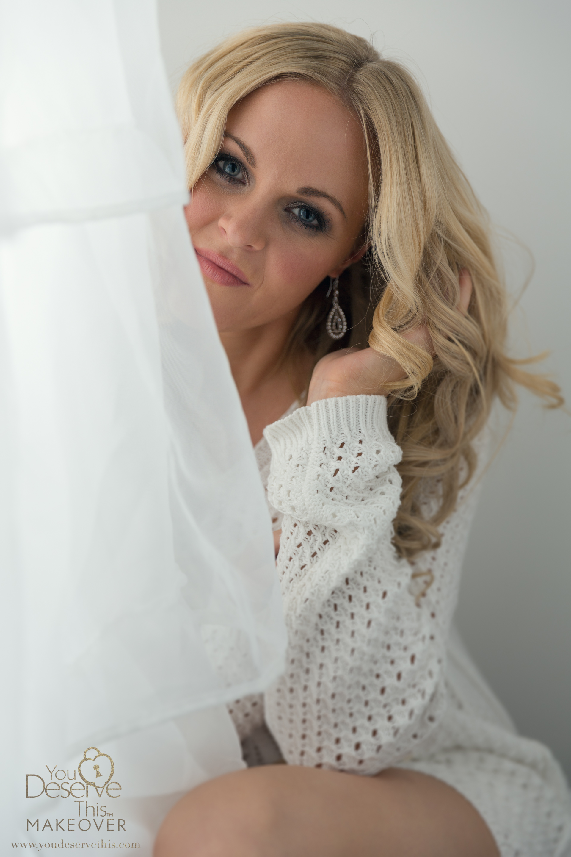 Soft and sensual boudoir photography.  The perfect gift to treat yourself and for the man you love.  www.youdeservethis.com