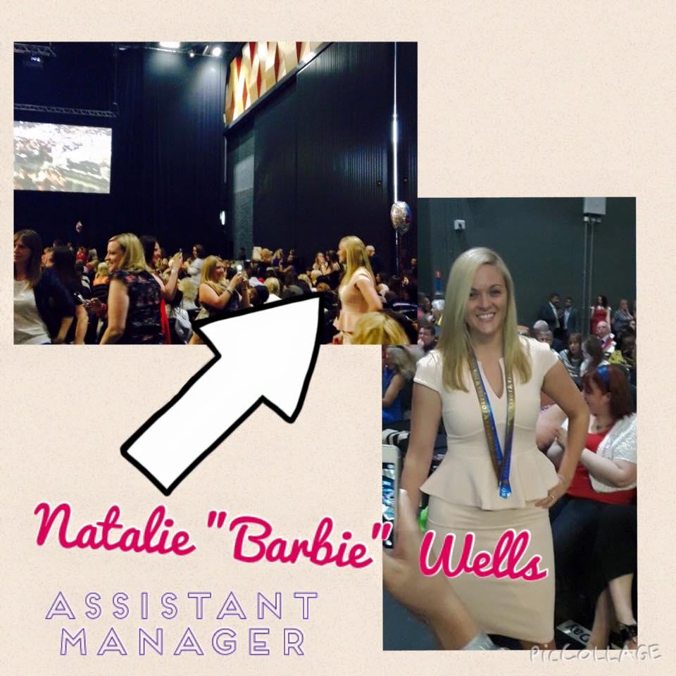 Natalie Wells, Assistant Manager, Forever Living.