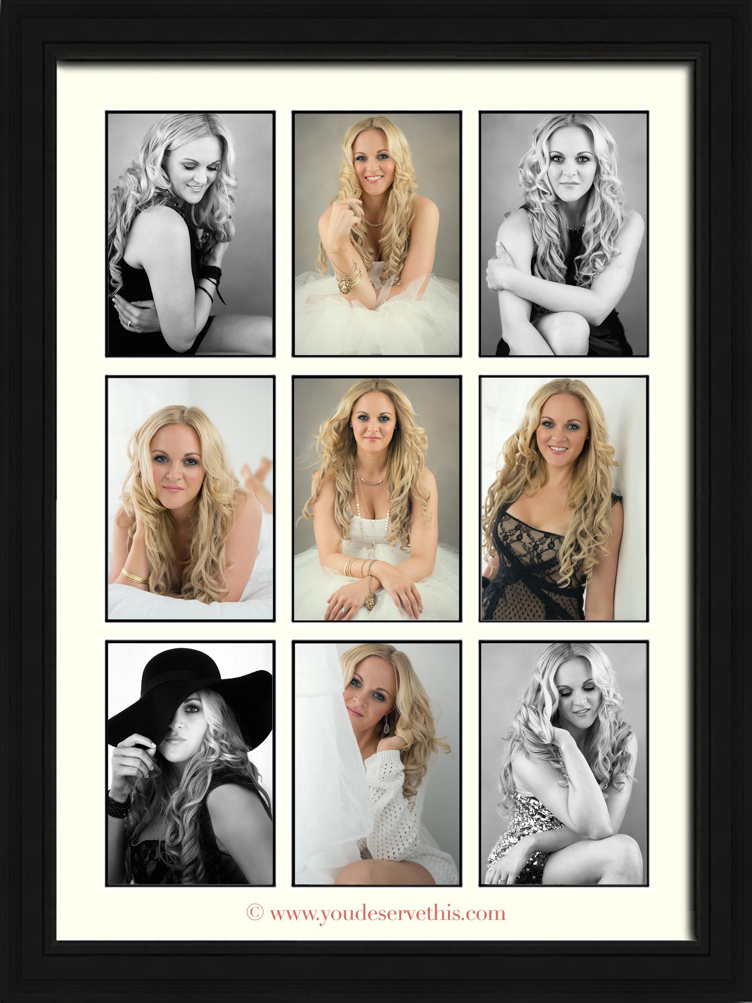 Nine Aperture Gallery Wall Portrait_YouDeserveThis Makeover and Photoshoot Studio -  www.youdeservethis.com