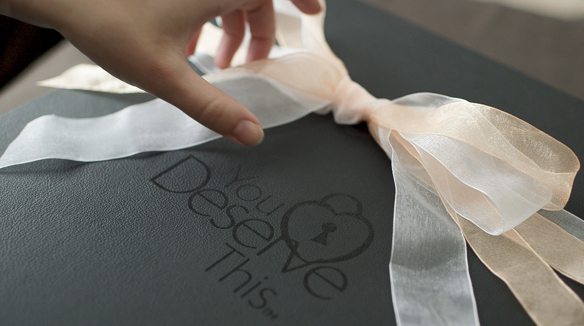 YouDeserveThis Makeover and Photoshoot Studio - Luxury Handcrafted Folio Box -  www.youdeservethis.com