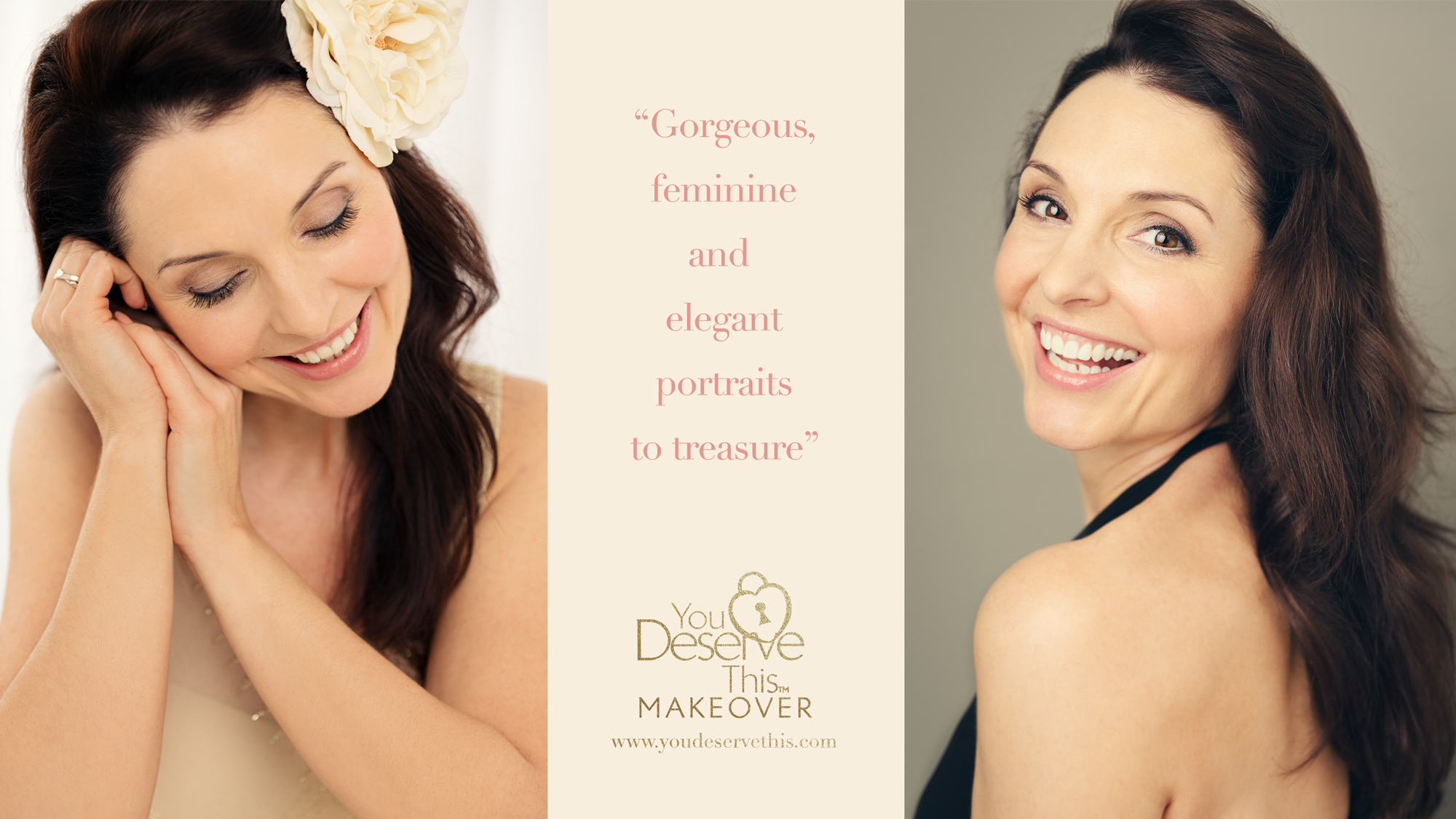 Treat Yourself to a Gorgeous Makeover - YouDeserveThis!