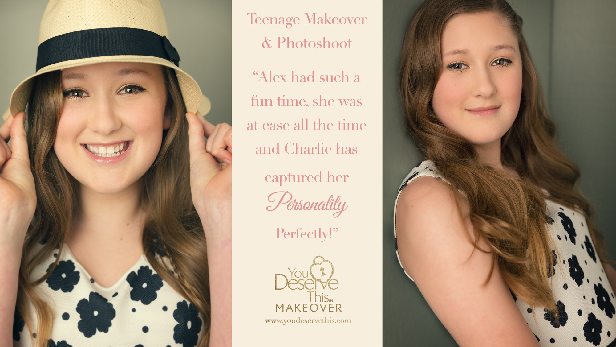 Teenage Photoshoot and Makeover