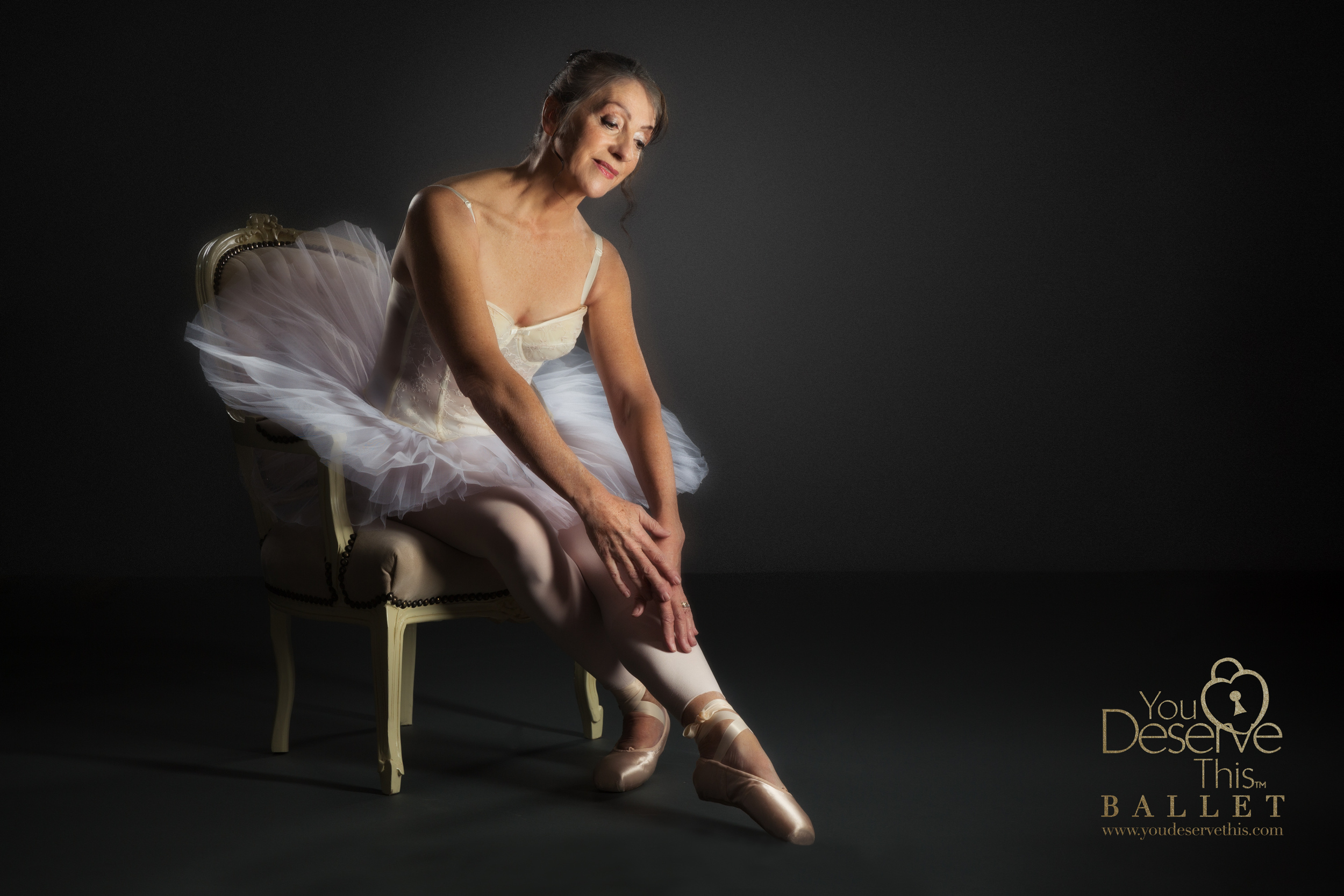 We absolutely love the gorgeous tulle tutu and the elegance of this pose. Ballet Photography with You Deserve This, Tadley, Basingstoke, Hampshire UK  www.youdeservethis.com