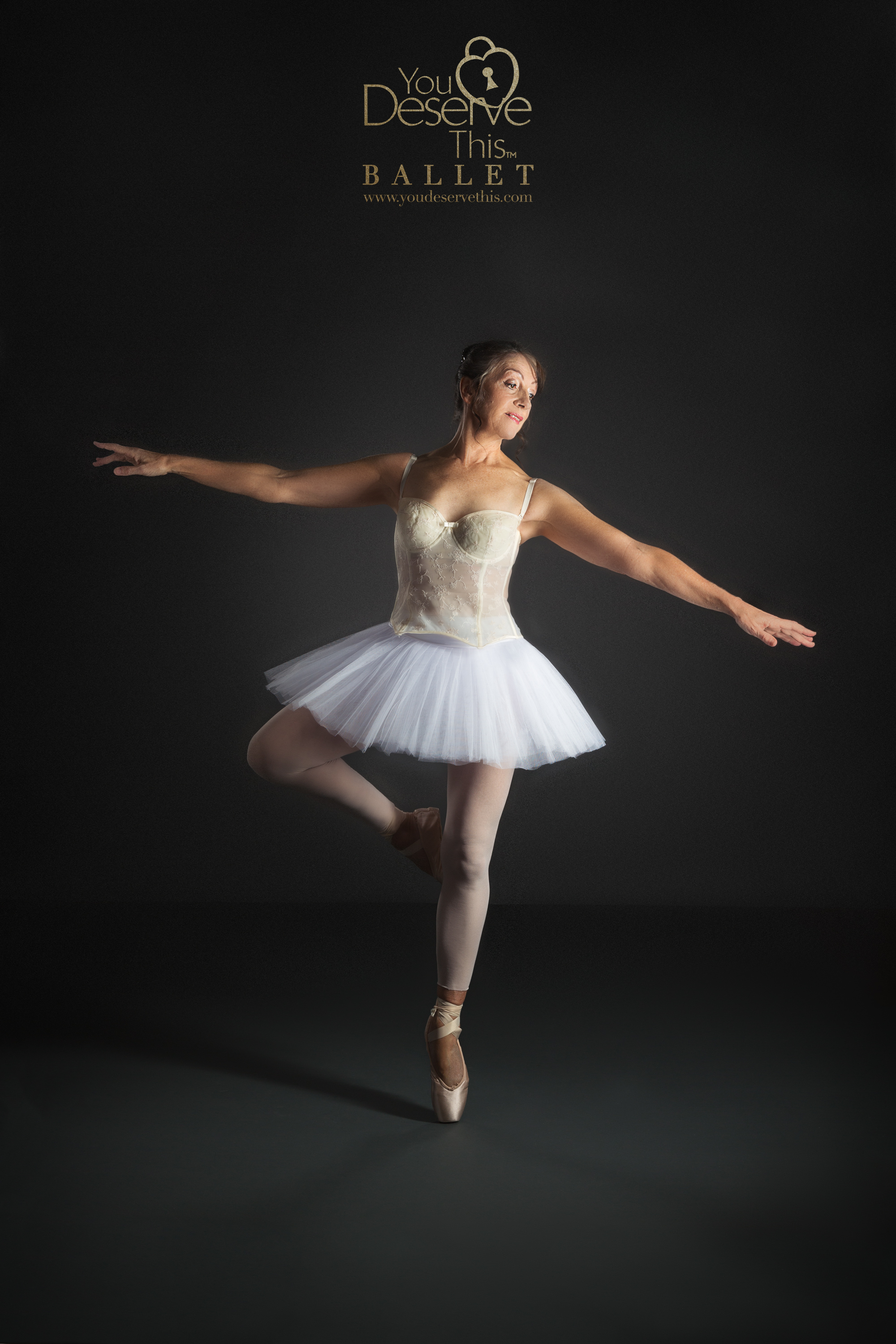 On Point! So beautiful, we are enthralled by Maggie's Skill. Ballet Photos with You Deserve This Photography Hampshire UK