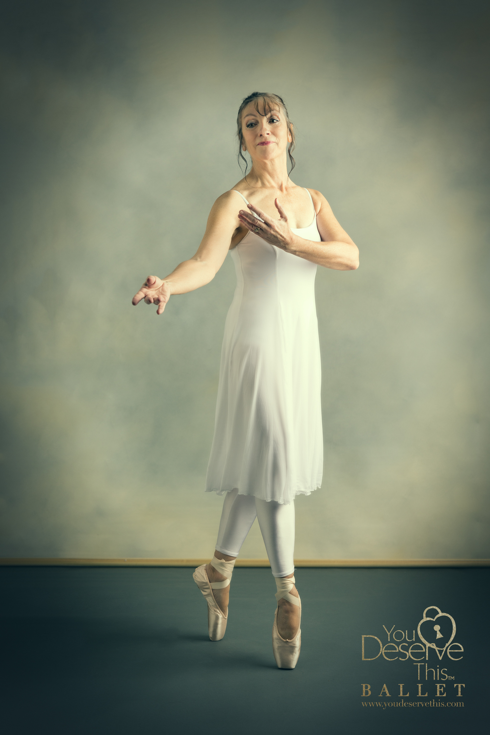 Ballet shoes, tights and up on point. Love this beautiful Ballet Photograph www.youdeservethis.com