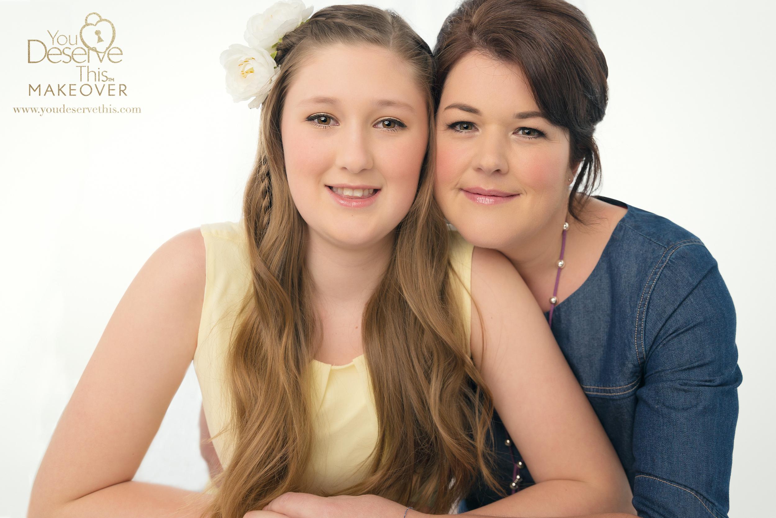 Mum and Daughter Portraits UK  www.youdeservethis.com