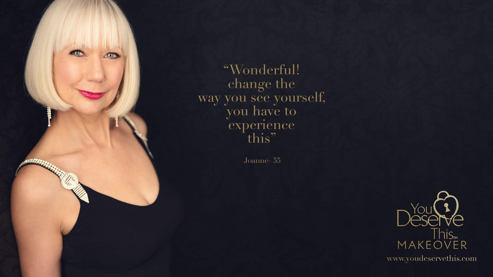 Wonderful! Change the way you see yourself, you have to experience this. Makeover and Photoshoot  www.youdeservethis.com