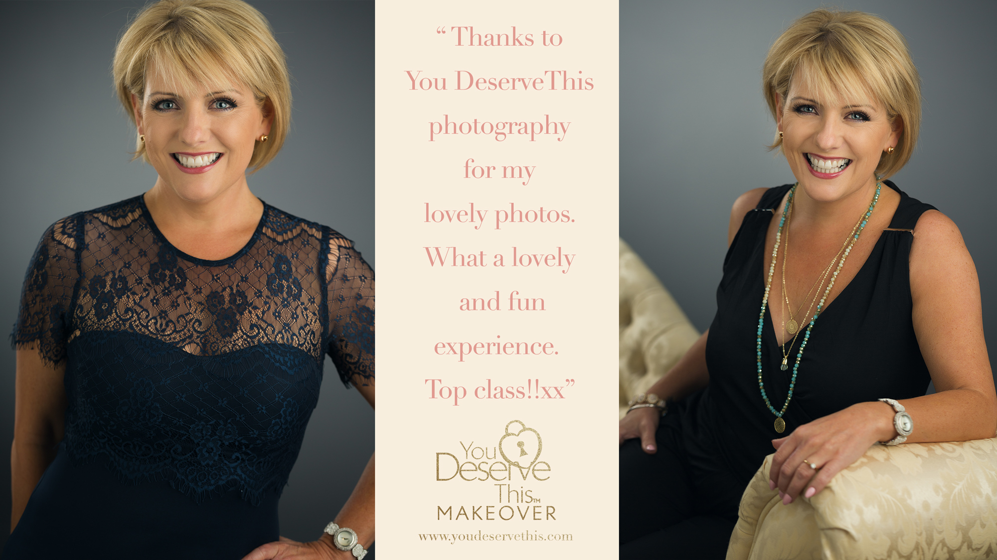 Thanks to You Deserve This photography for my lovely photos. What a lovely and fun experience. Top Class.  www.youdeservethis.com