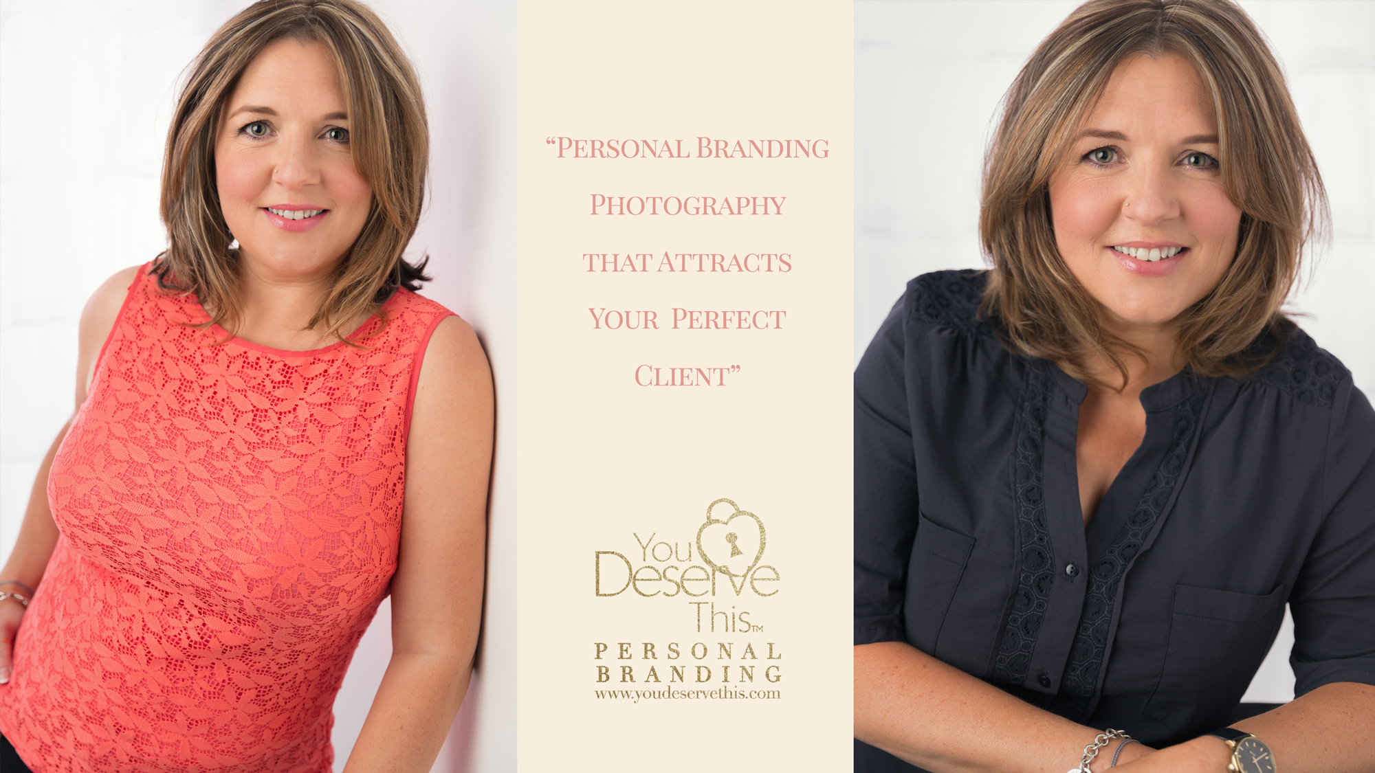 Personal Branding Photography that attracts your perfect client. Caroline is a Life Coach based in North Hampshire. Contact us to update your business portraits.  youdeservethis.com