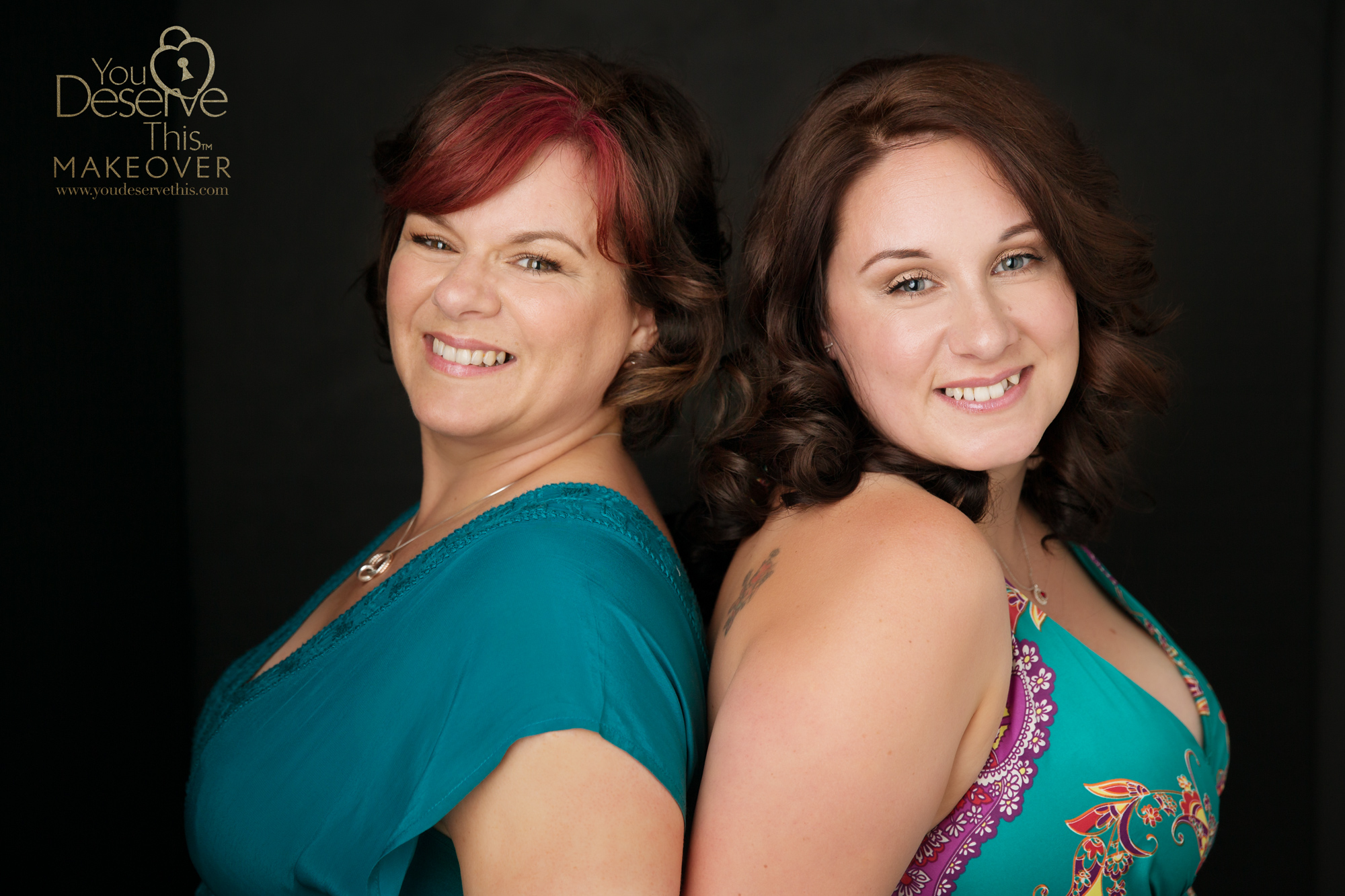 We had such a great time with these beautiful women, they thoroughly enjoyed their makeover and photo shoot.  youdeservethis.com  Surrey Portrait Photographer.
