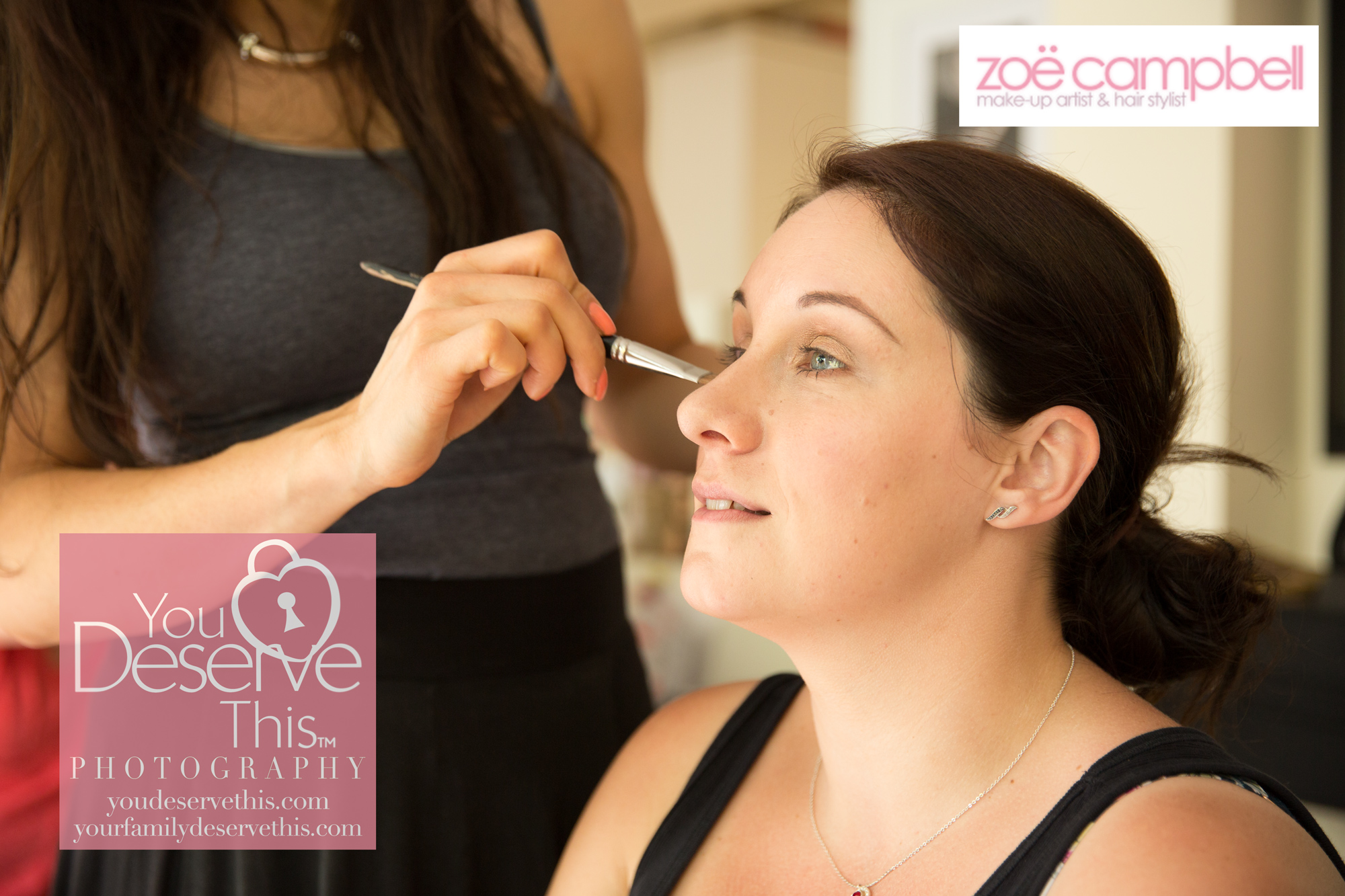 We love working with Zoe, beautiful makeovers for women and a photoshoot to capture how gorgeous you feel.  youdeservethis.com