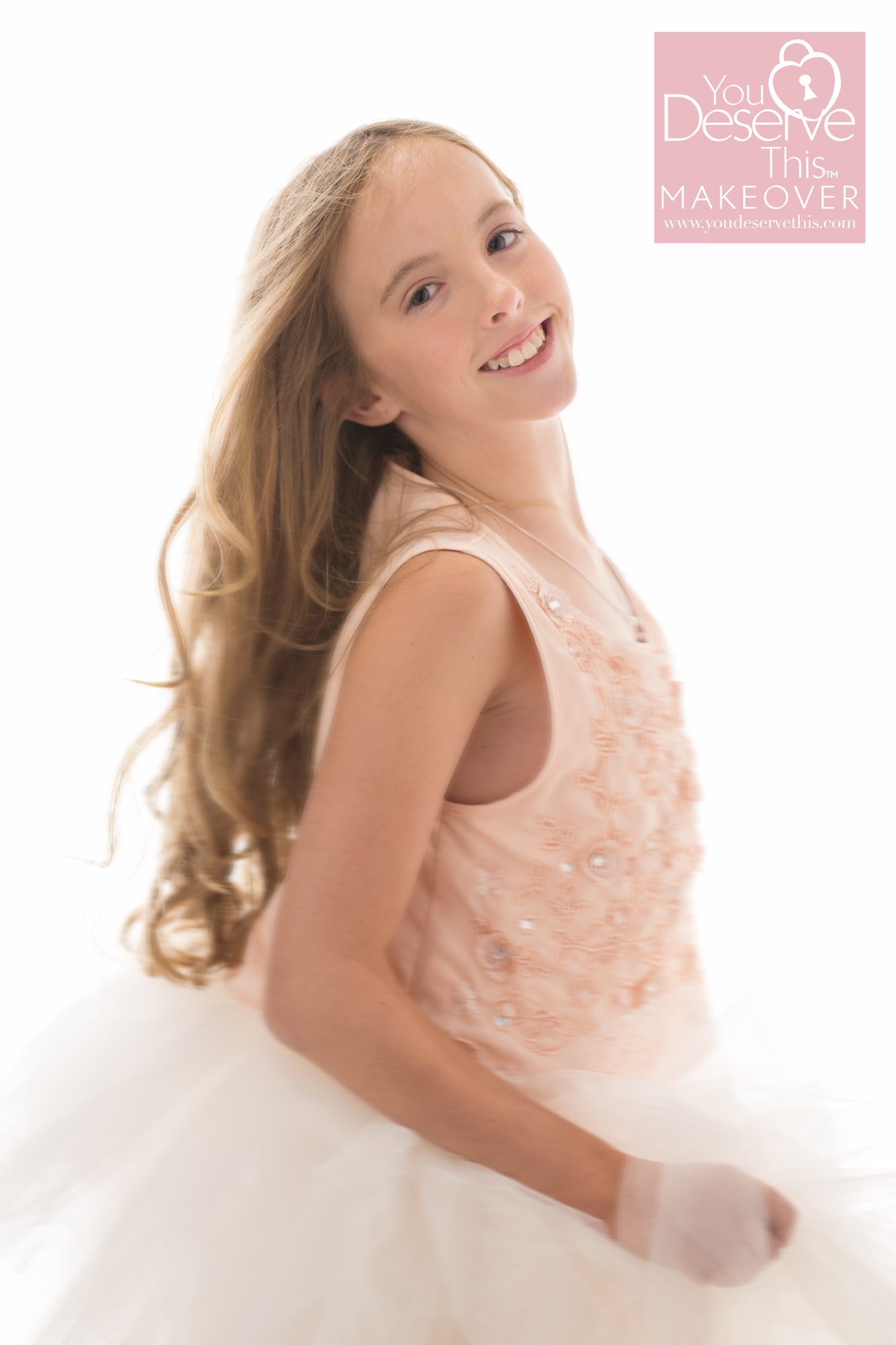 We have so much fun at our studio, dancing and twirling in your favourite dresses and some fabulous tulle skirts too. Every young girl deserves to feel beautiful.  youdeservethis.com