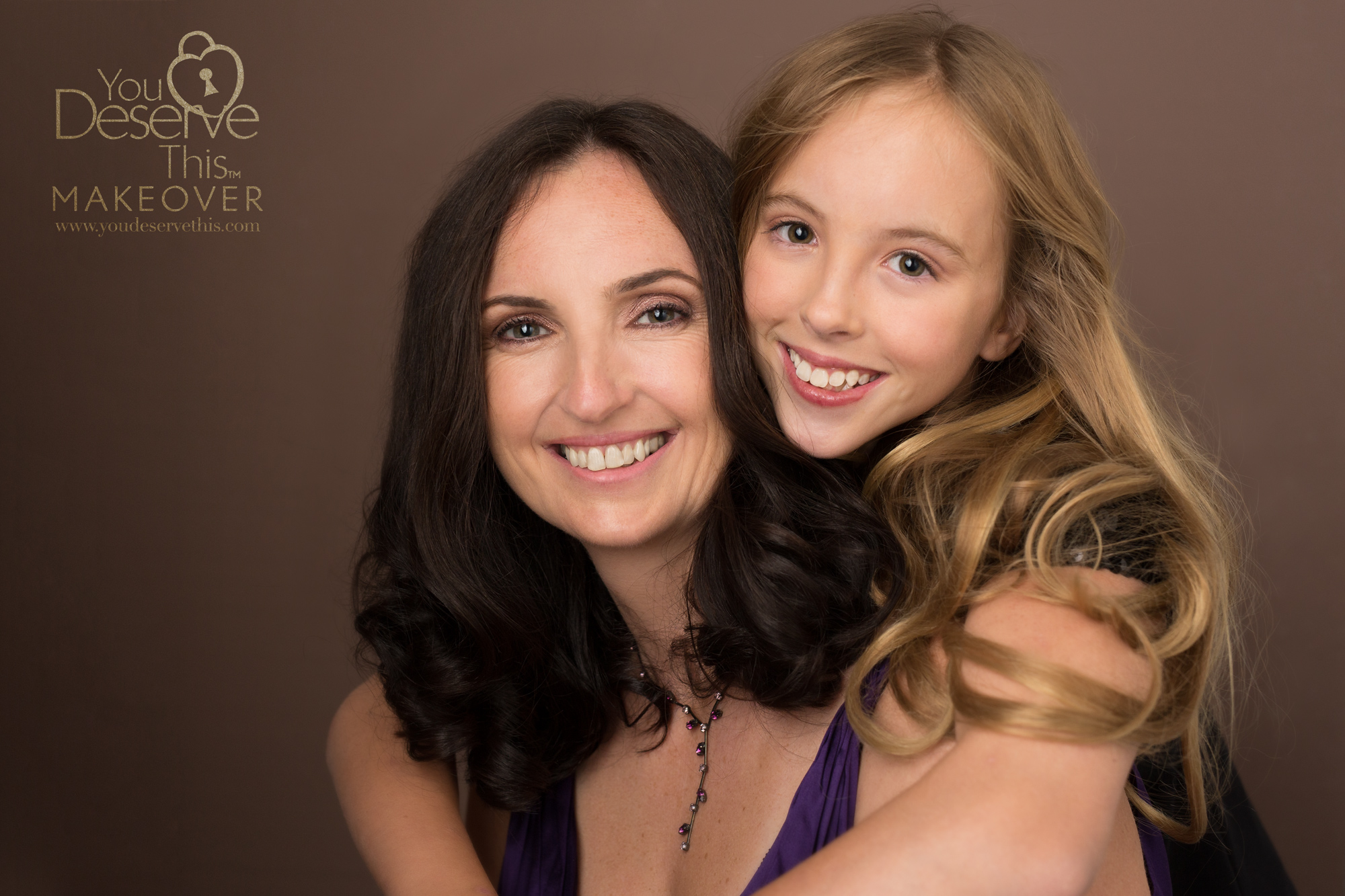 Our chocolate background is gorgeous, it's our most popular choice, our customers just love it. When did you last have a professional photograph taken? You Deserve a gorgeous portrait at  youdeservethis.com