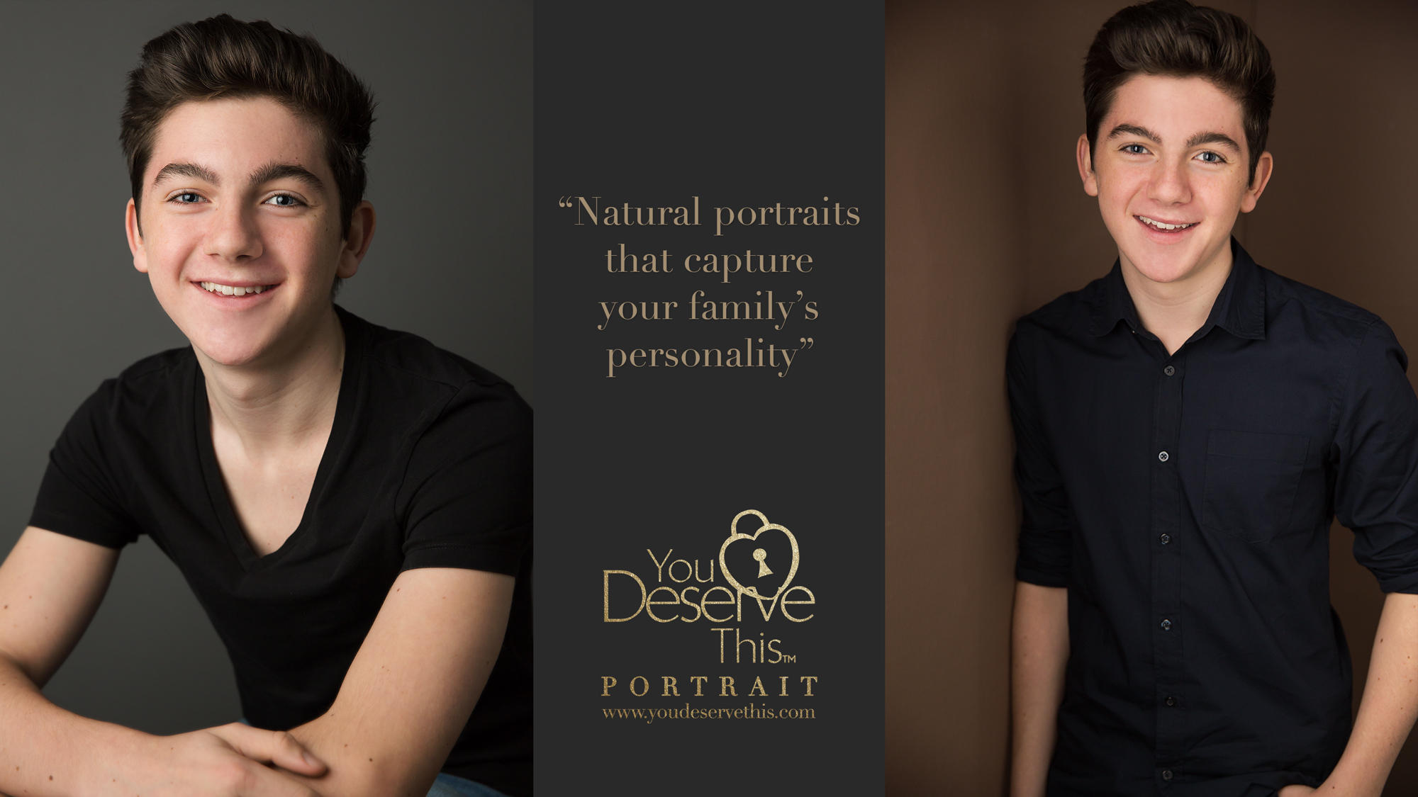 YouDeserveThis Portrait for Men