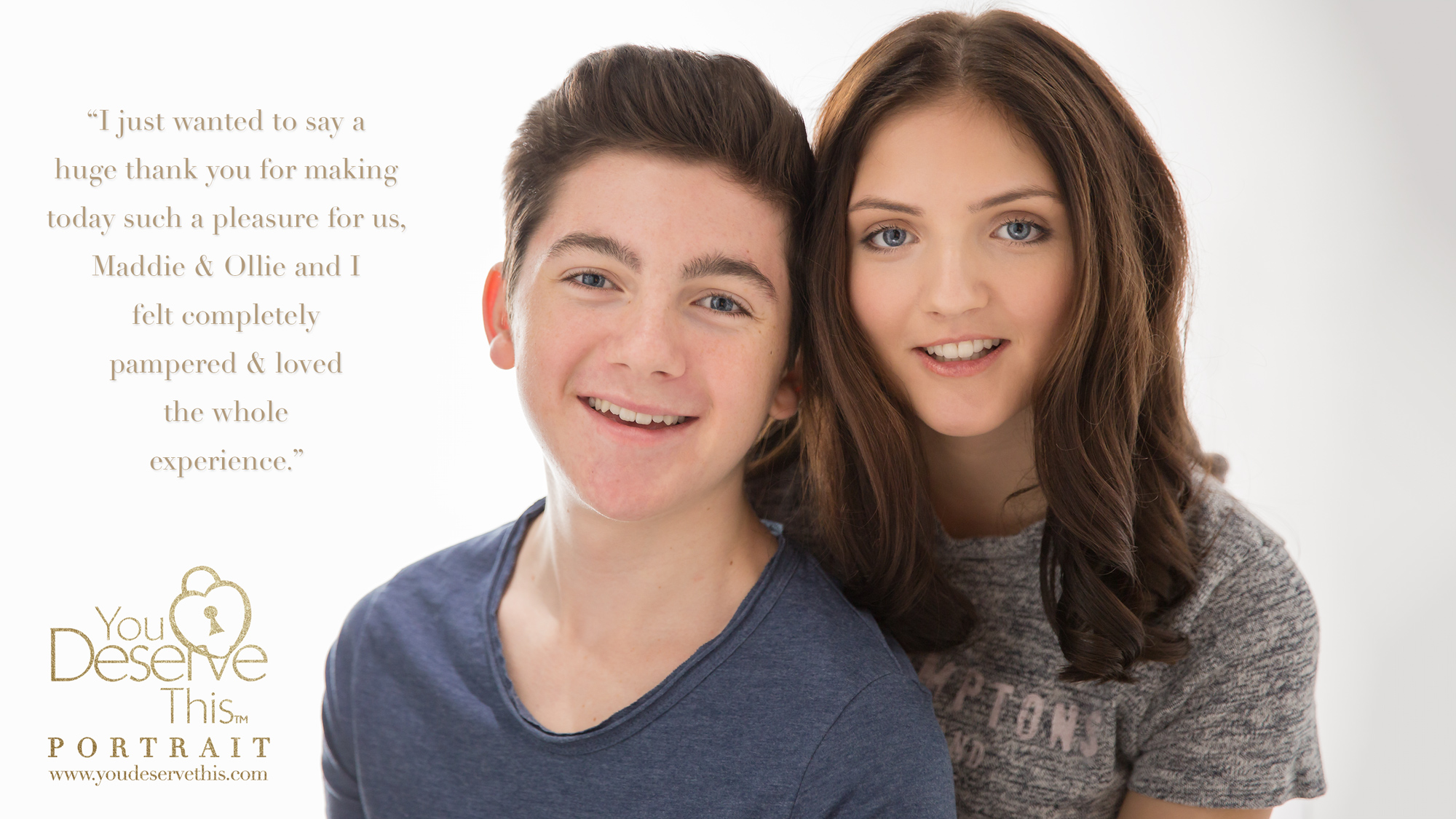 Brother and Sister photoshoot. Would you love to have beautiful portraits of your children? Probably the most important things you will ever own. Contact us today and we will start planning your  makeover and photoshoot .