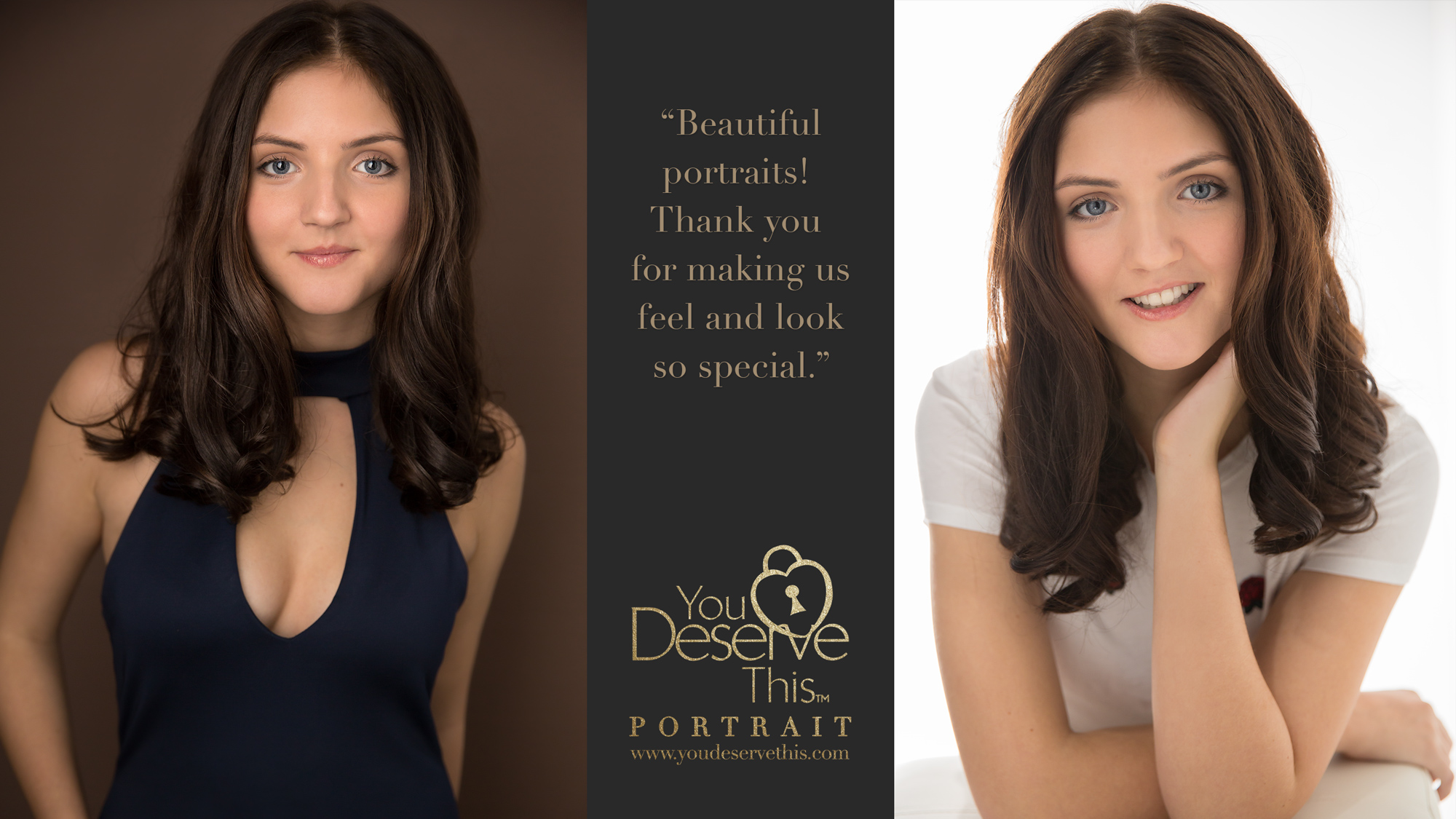 family makeover and photoshoot at YouDeserveThis Headshots, Makeover and Photography Studio Tadley Hampshire RG26 3RN