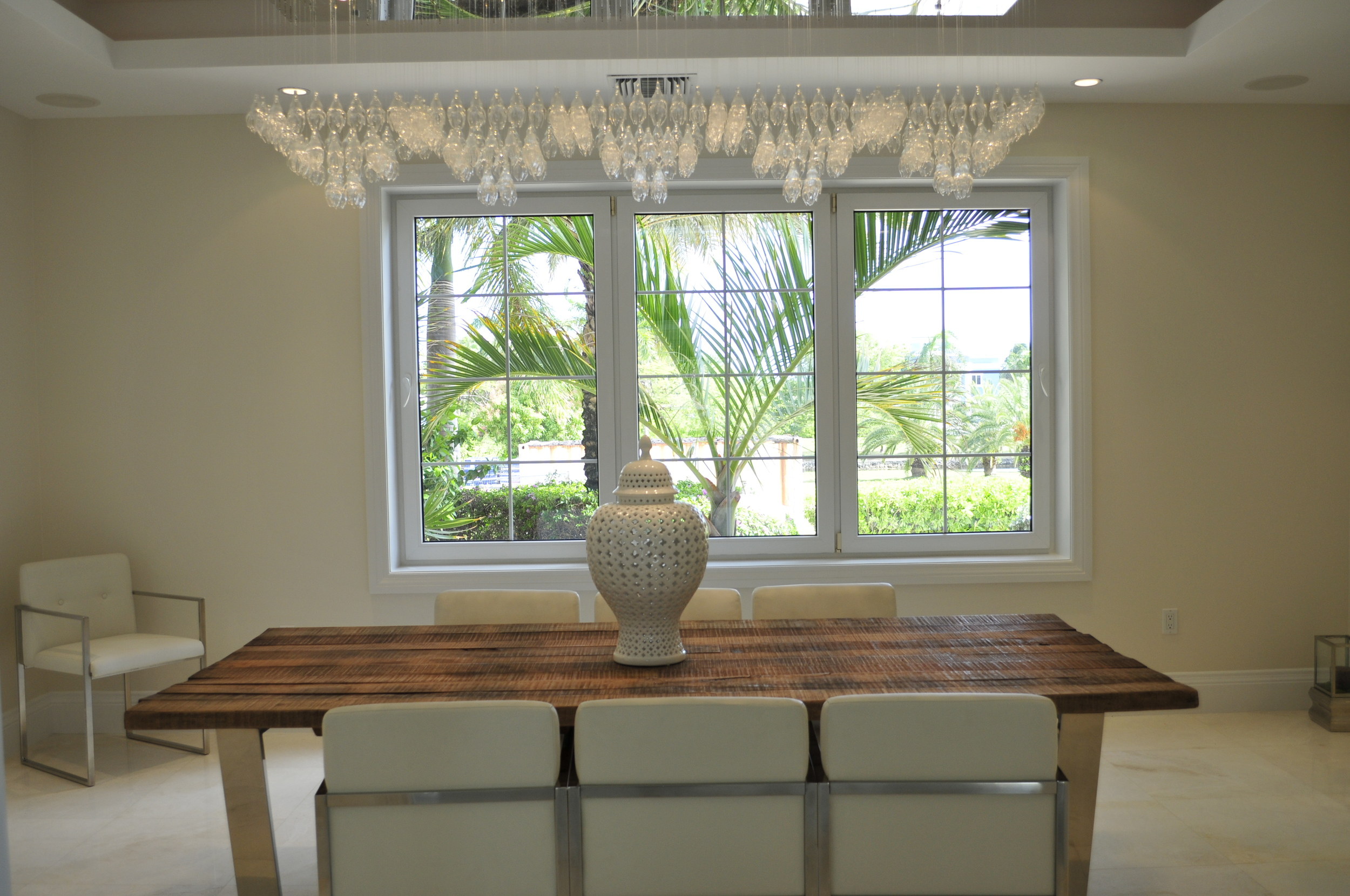 Custom jelly fish chandelier.JPG