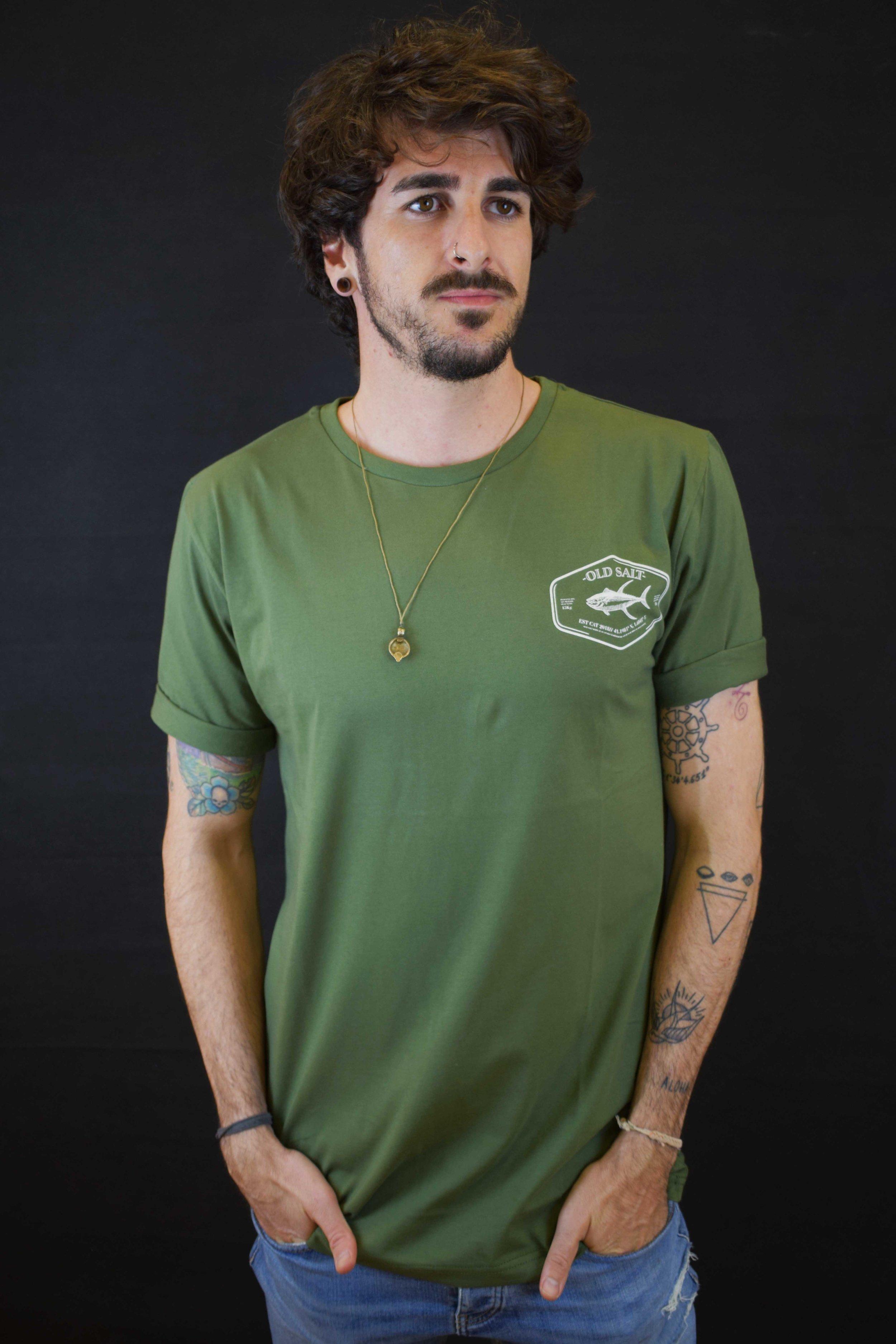 Hombre Hombre Tuna Mosver Camiseta Camiseta Mosver Tuna jGSVLzMqUp