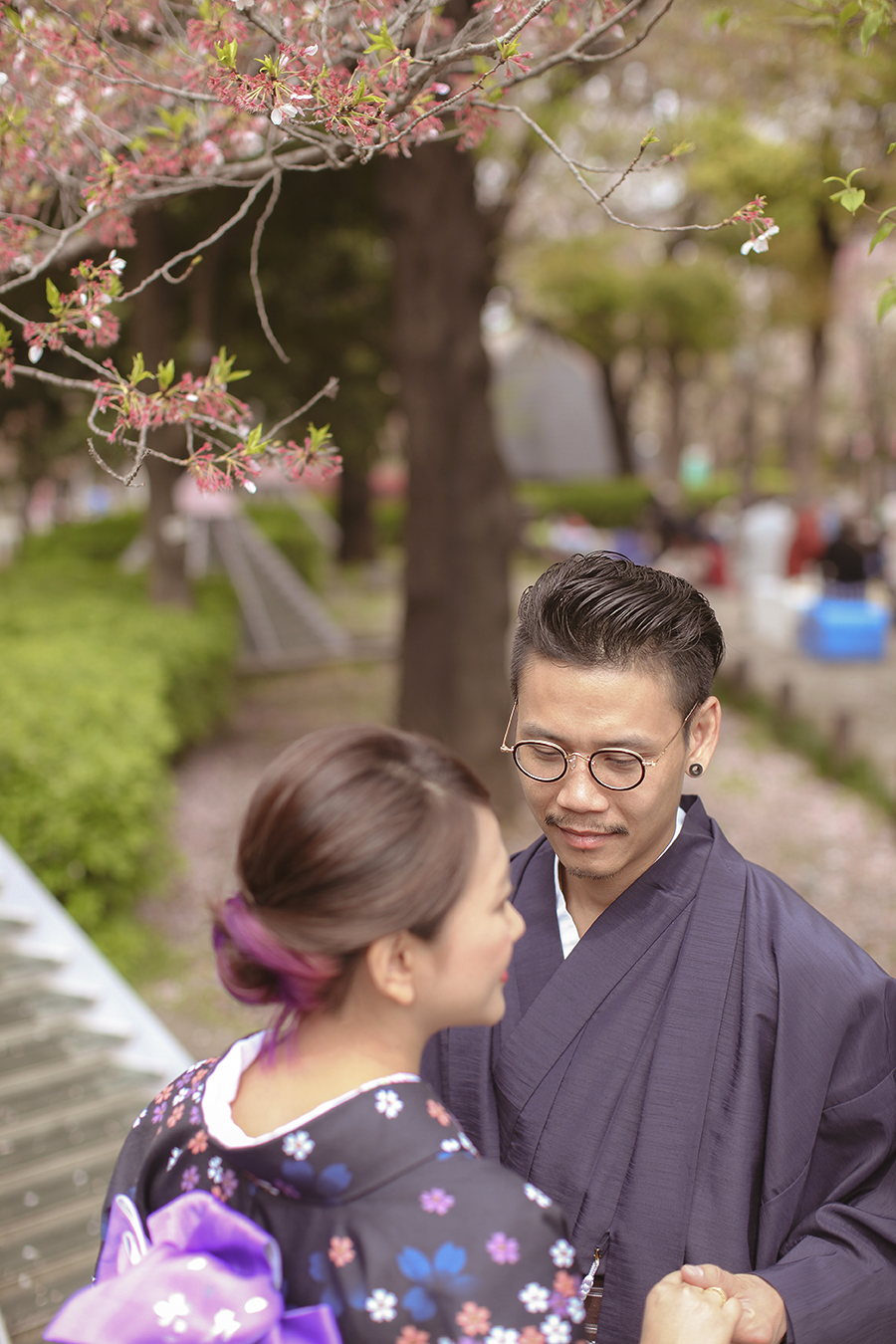tokyo hakone japan spring sakura . engagement wedding photography by kurt ahs . ns + eu . 0413.jpg