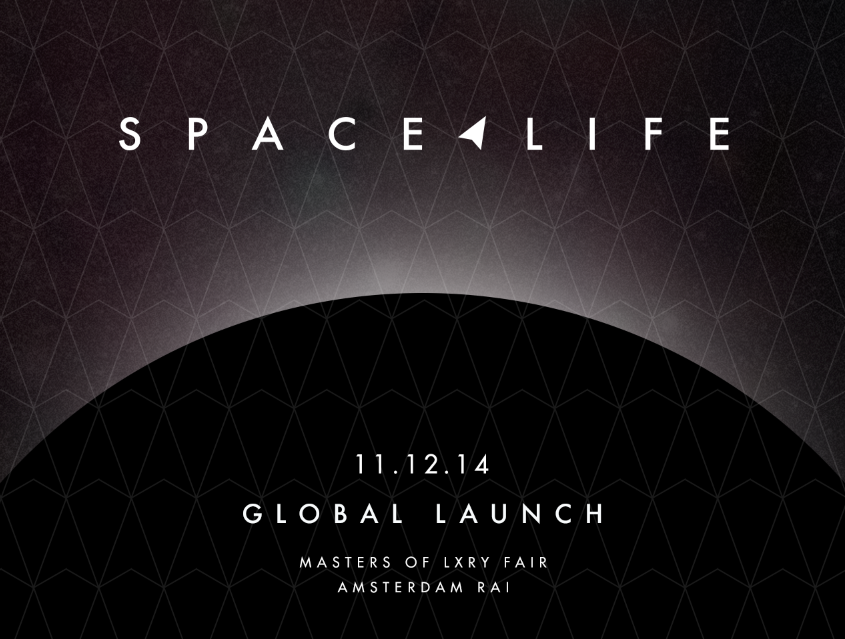 LAUNCH OF THE BRAND SPACELIFE AT LXRY FAIR AMSTERDAM  2014   SEE THE GALLERY