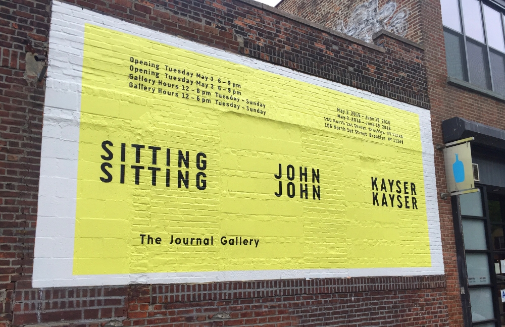 The Journal Gallery , Corner of N 1st St. and Berry St., Brooklyn, NY (2016)