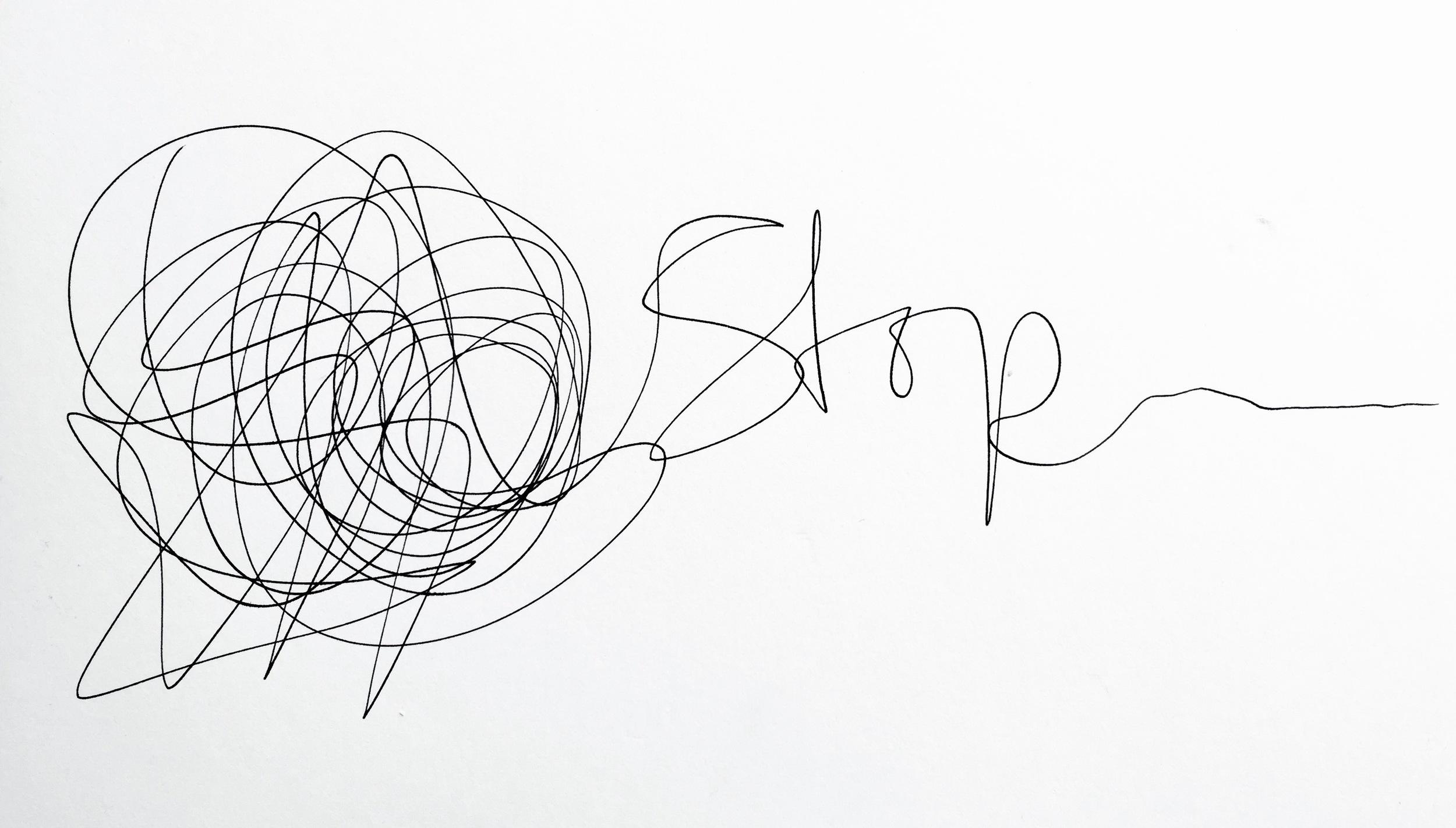 How to Stop by Shamash Alidina