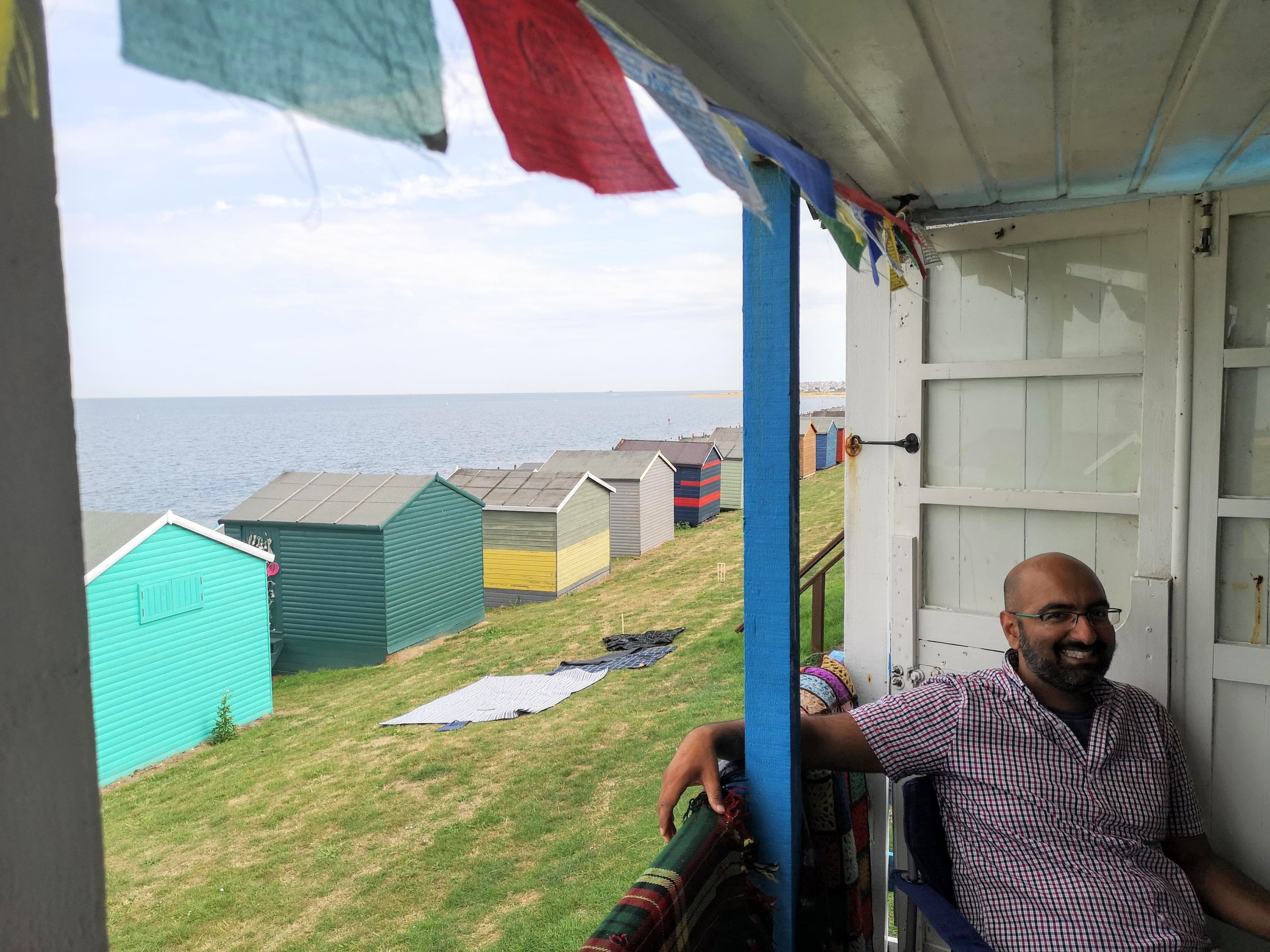My recent visit to my friend's beach hut in Whitstable, UK this summer to celebrate my birthday!