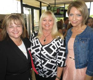 Pam Blackwell, Connie Ramos-Williams, and Erica Castner