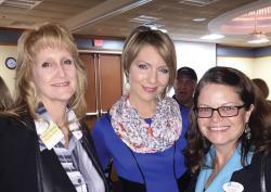 Caryn Smith, Erica Castner, Mary Silverstein