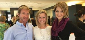 Joe Mitchell, Erica Castner, and Christin Collins
