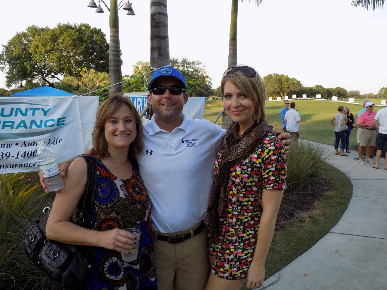 Michele Hoover, Brent Stokes, and Erica Castner