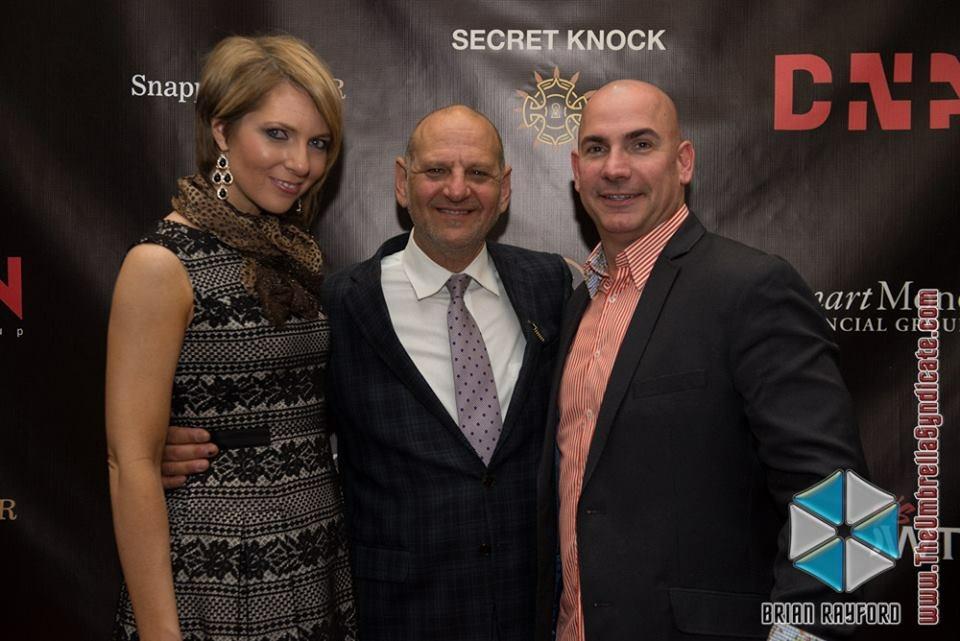 Erica Castner, Ross Halleck, and Ed Castner