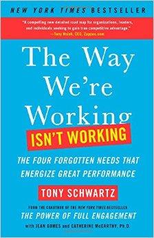 Tony Schwartz, The Way Were working it's working, Erica Castner