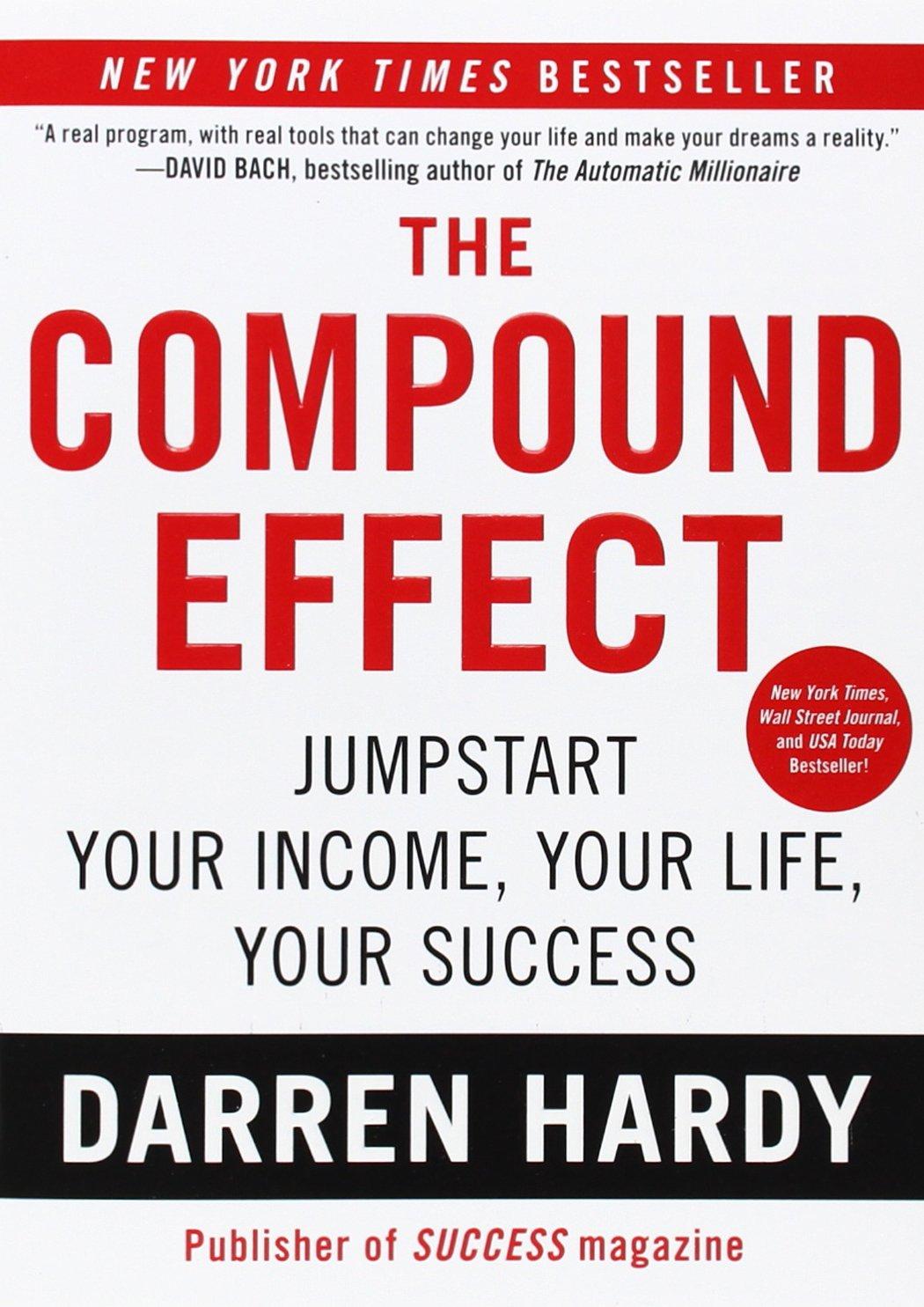 darren hardy, the compound effect, erica casnter
