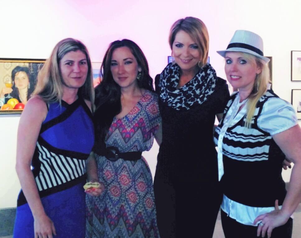 Mila Bridges, Melissa DeHaven, Erica Castner, Cheryl Logan, Sidney & Berne Davis Center