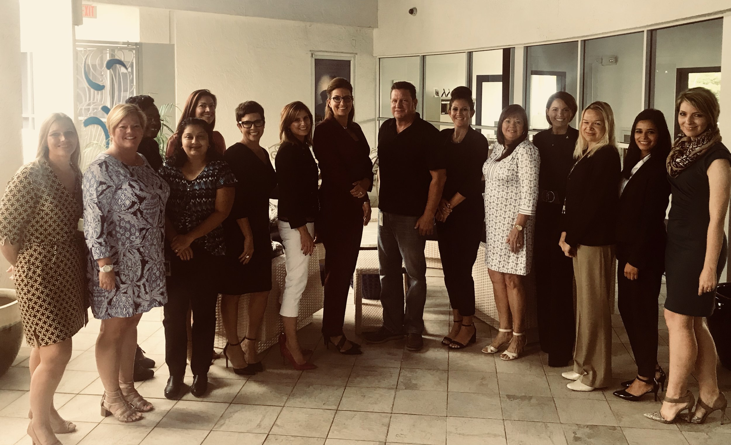 Local Employers assisted the Dress for Success SW Florida WETES program for the Practice Interview Day on August 14, 2018.