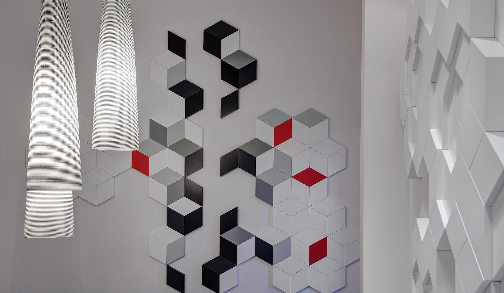 Zaprojektowana okładzina ścian z MDF