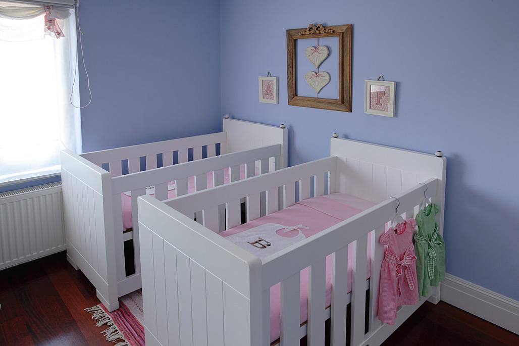 Błękitny kolor ścian to wyjątek zrobiony dla dzieci